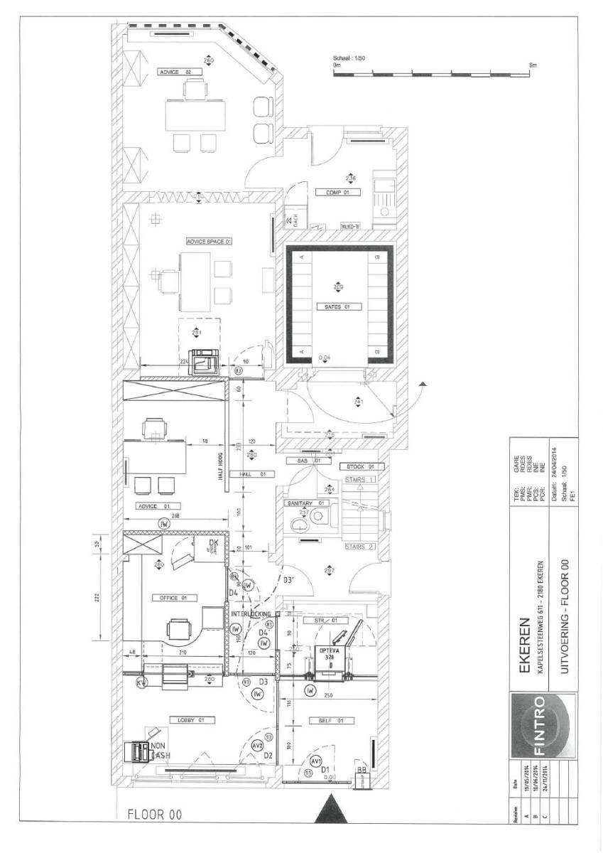 Voormalig bankkantoor in een half-open bebouwing op zeer centrale en zichtbare locatie te Ekeren! afbeelding 24
