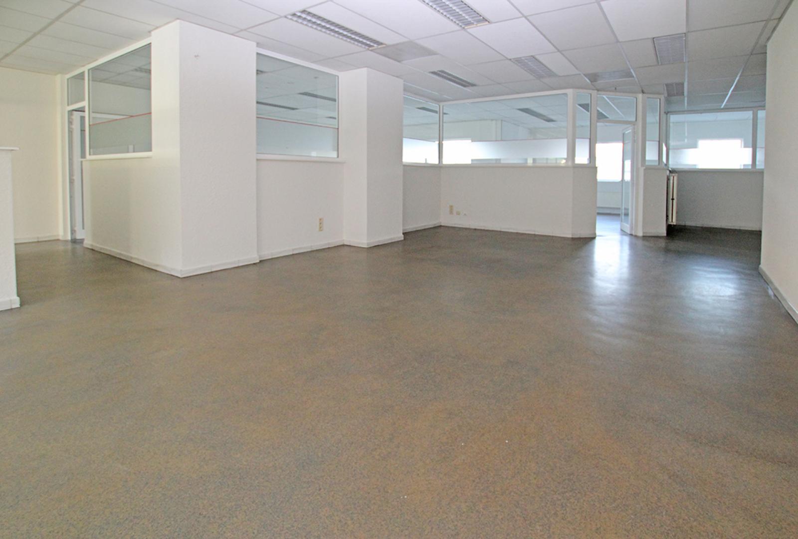 Ruime kantoorruimte (+/-400m²) + parkings afbeelding 2