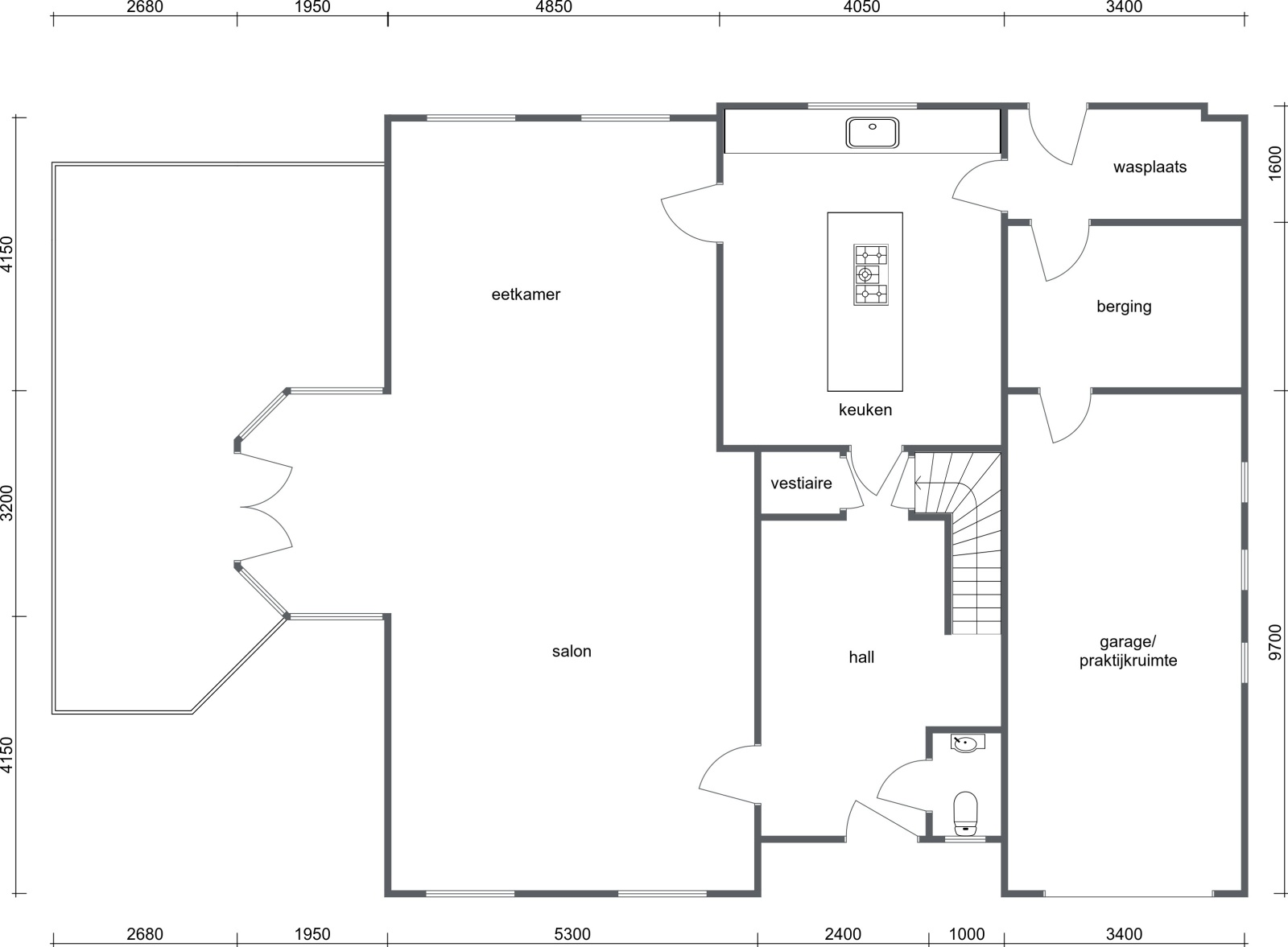 Stijlvolle landelijke villa op een perceel van 1.107 m² in een zeer gegeerd doodlopend straatje te Linkeroever! afbeelding 32