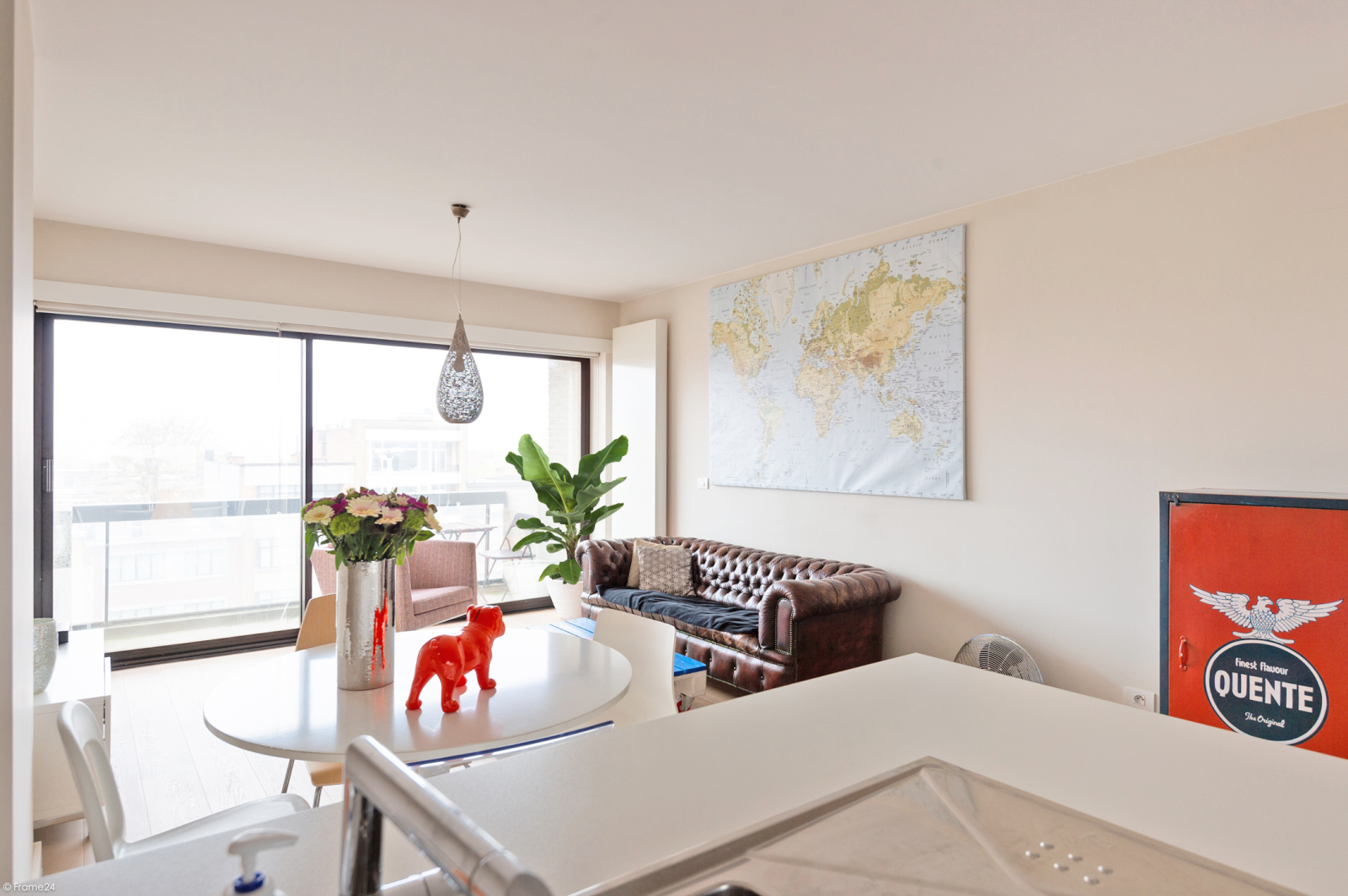 Modern en licht appartement met twee slaapkamers te Berchem! afbeelding 3