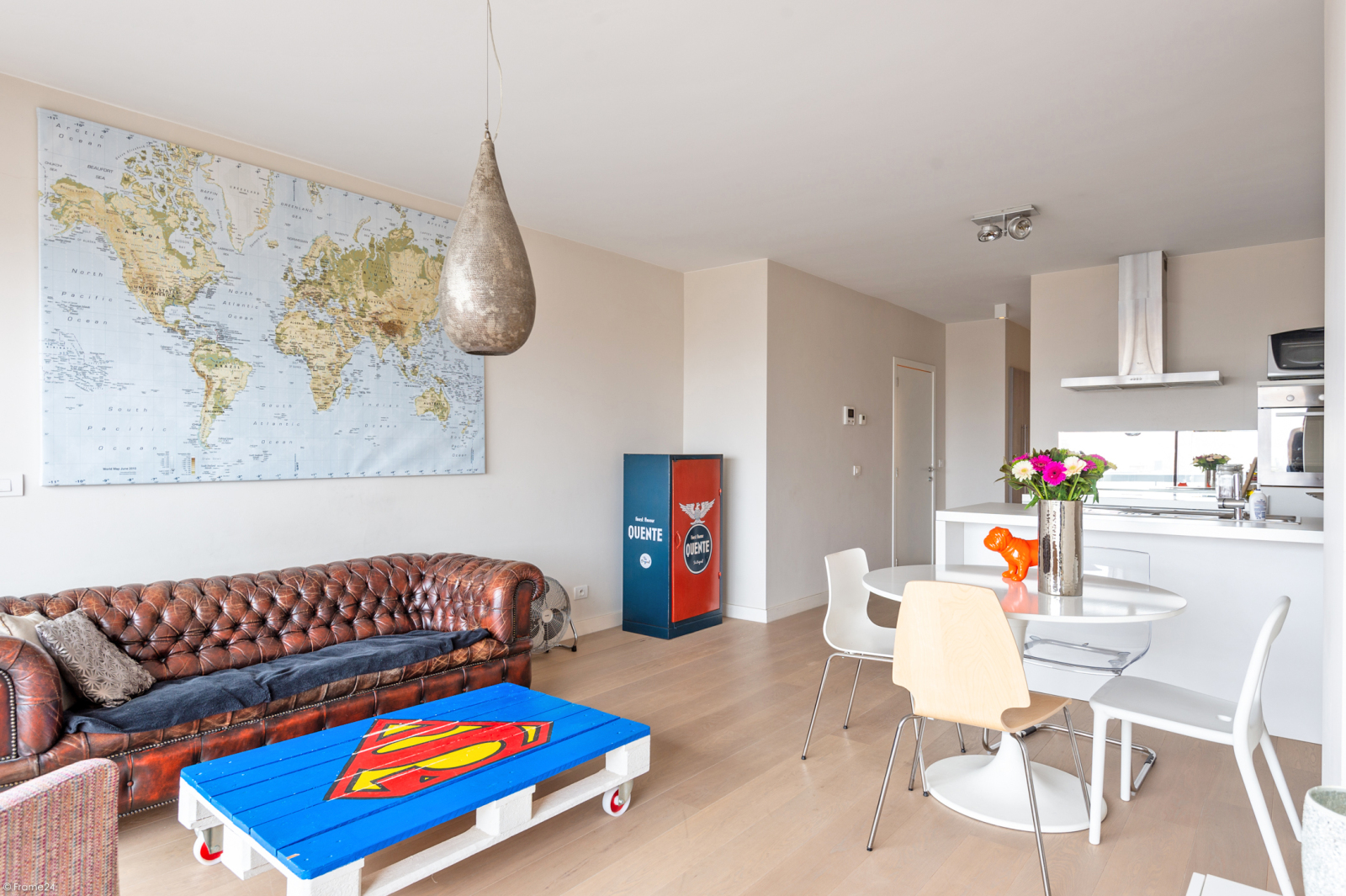 Modern en licht appartement met twee slaapkamers te Berchem! afbeelding 4