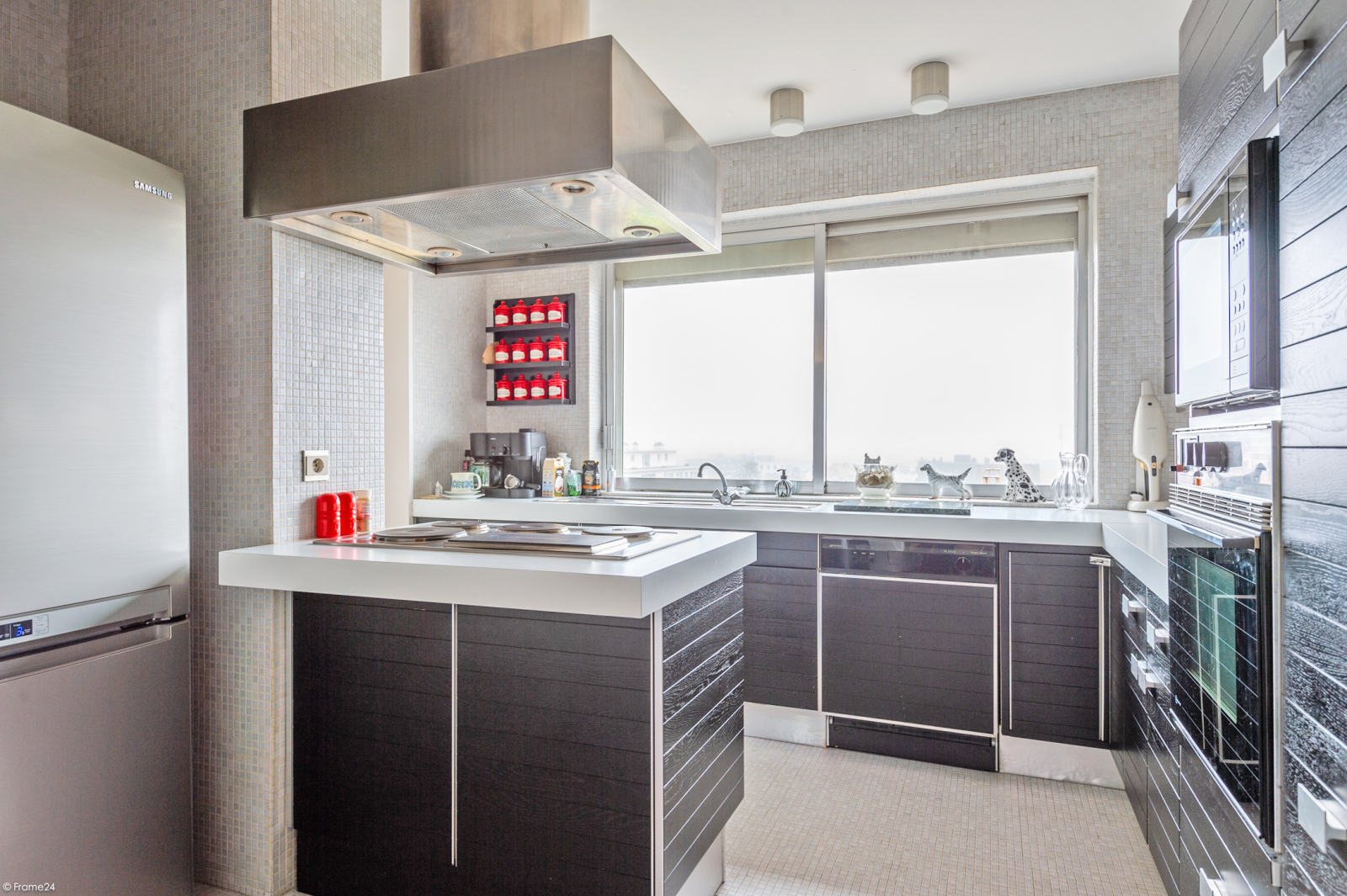 Zeer ruim appartement met uitzonderlijke terrassen en prachtig panorama over Antwerpen afbeelding 9