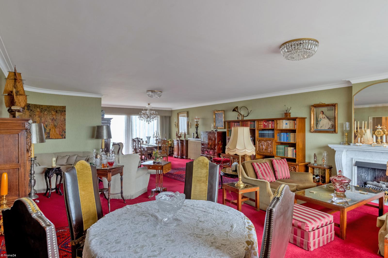 Zeer ruim appartement met uitzonderlijke terrassen en prachtig panorama over Antwerpen afbeelding 4