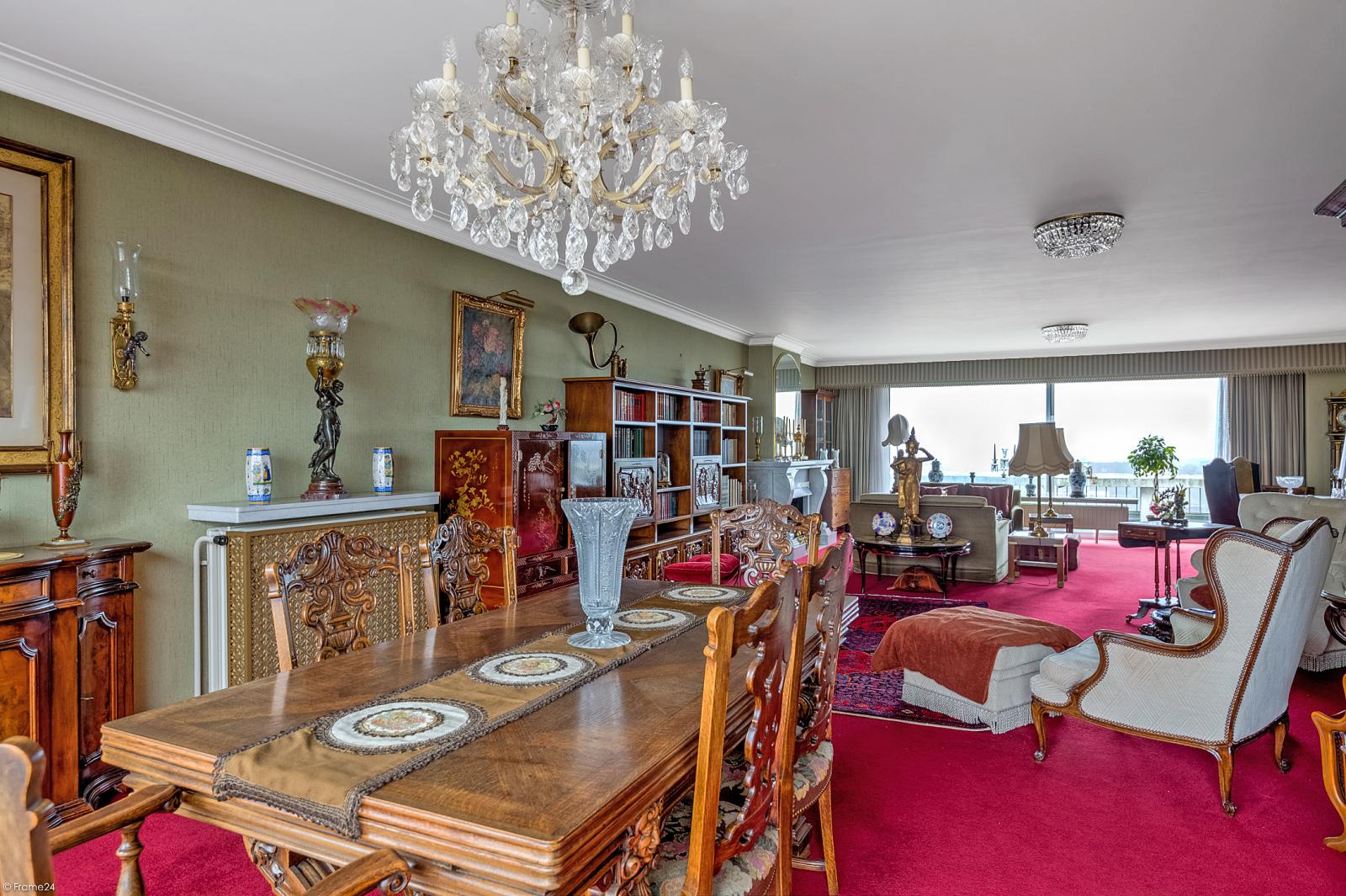 Zeer ruim appartement met uitzonderlijke terrassen en prachtig panorama over Antwerpen afbeelding 5