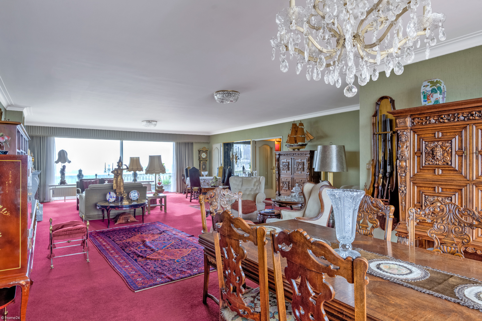 Zeer ruim appartement met uitzonderlijke terrassen en prachtig panorama over Antwerpen afbeelding 2