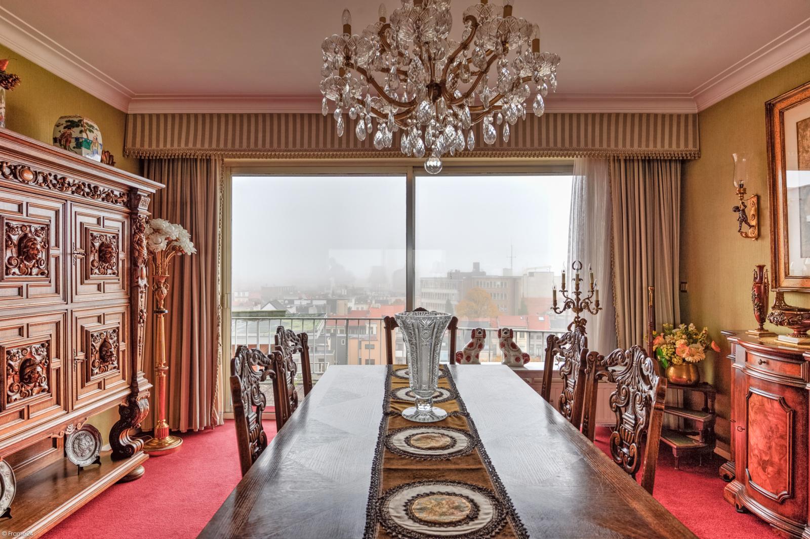 Zeer ruim appartement met uitzonderlijke terrassen en prachtig panorama over Antwerpen afbeelding 8