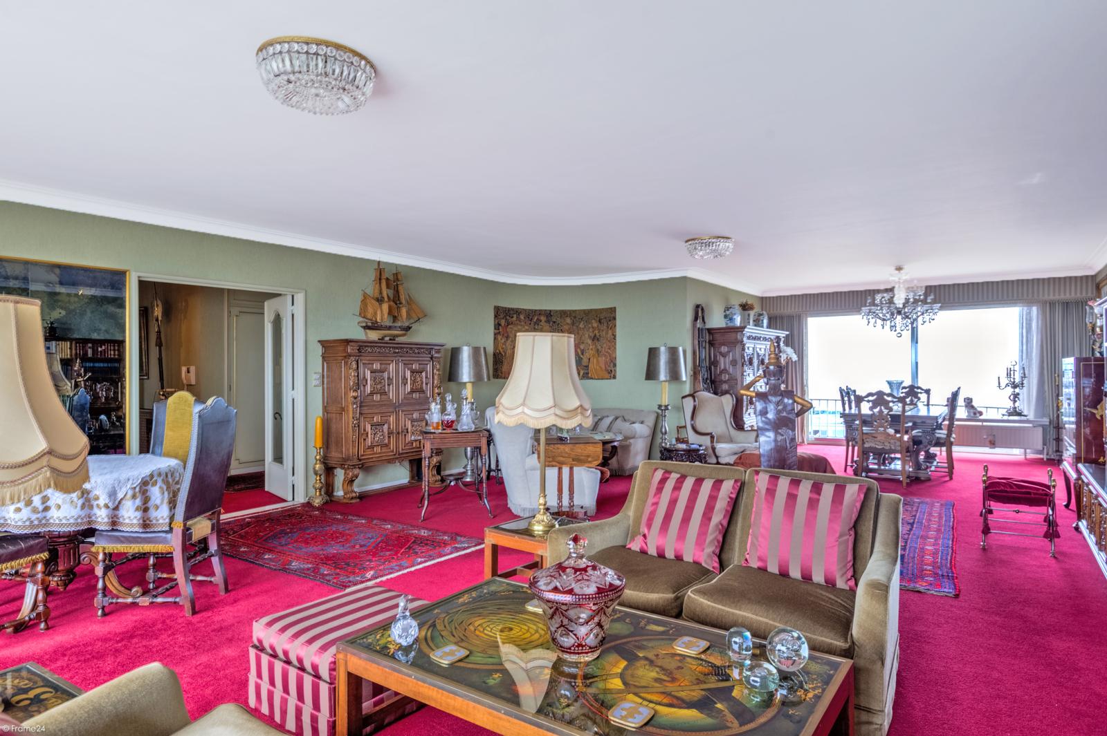 Zeer ruim appartement met uitzonderlijke terrassen en prachtig panorama over Antwerpen afbeelding 3