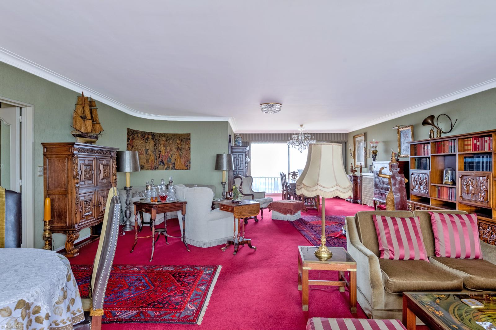 Zeer ruim appartement met uitzonderlijke terrassen en prachtig panorama over Antwerpen afbeelding 6