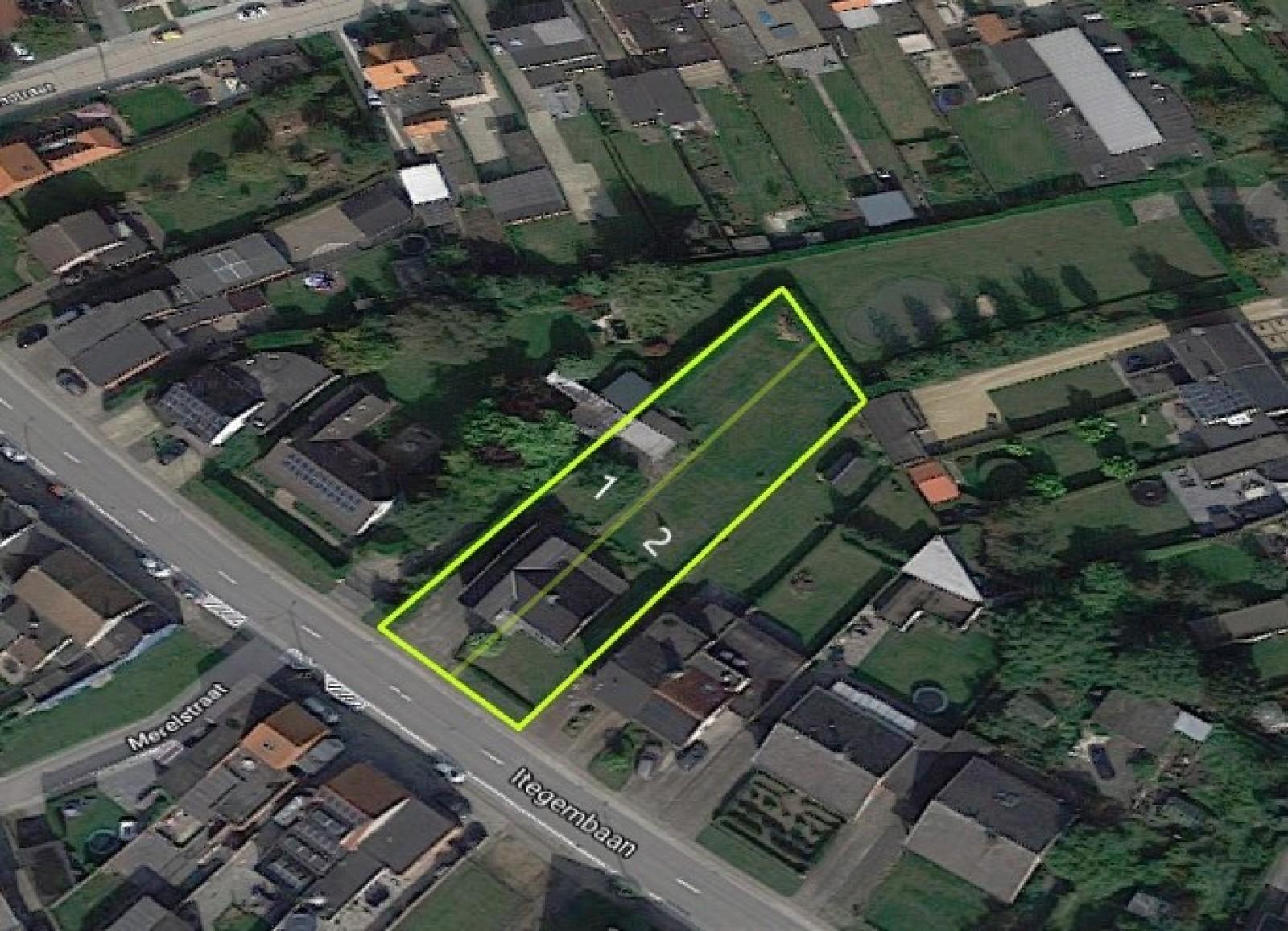Bouwgrond op 500m² voor één half-open bebouwing nabij de dorpskern van Berlaar.  afbeelding 1