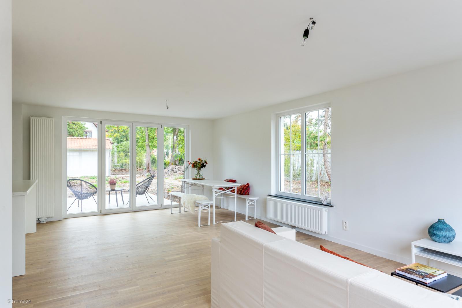 Volledig vernieuwde vrijstaande woning met drie slaapkamers op een hoekperceel van 776 m² te Schilde! afbeelding 9