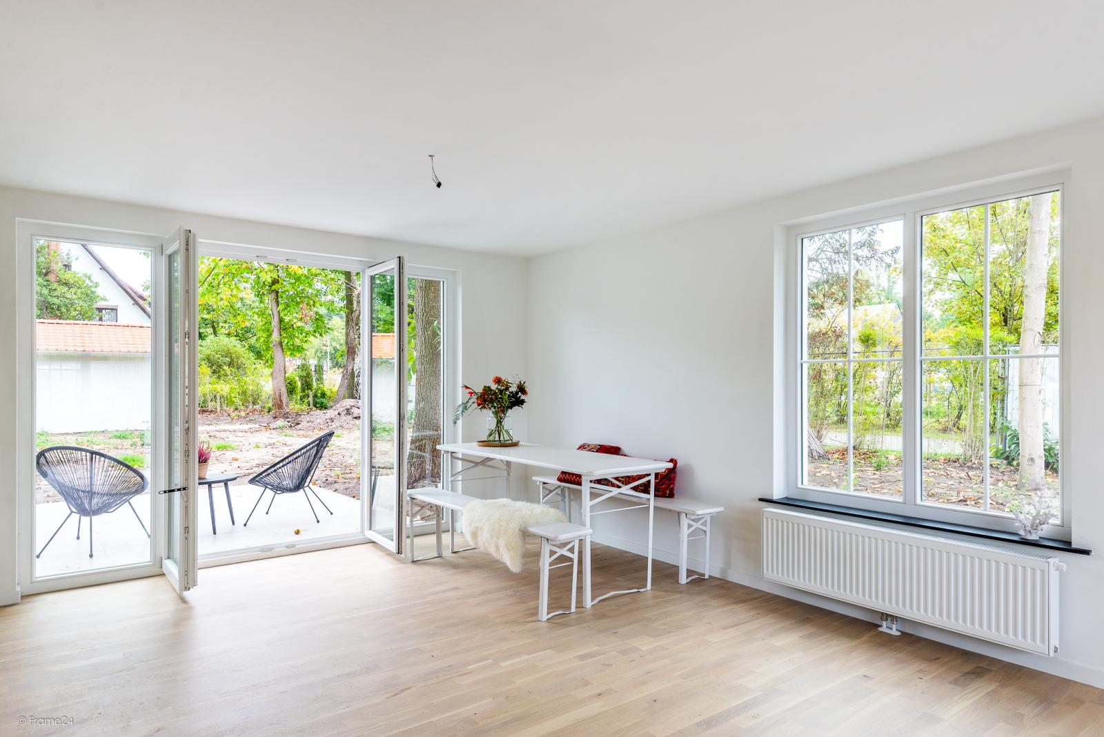 Volledig vernieuwde vrijstaande woning met drie slaapkamers op een hoekperceel van 776 m² te Schilde! afbeelding 4