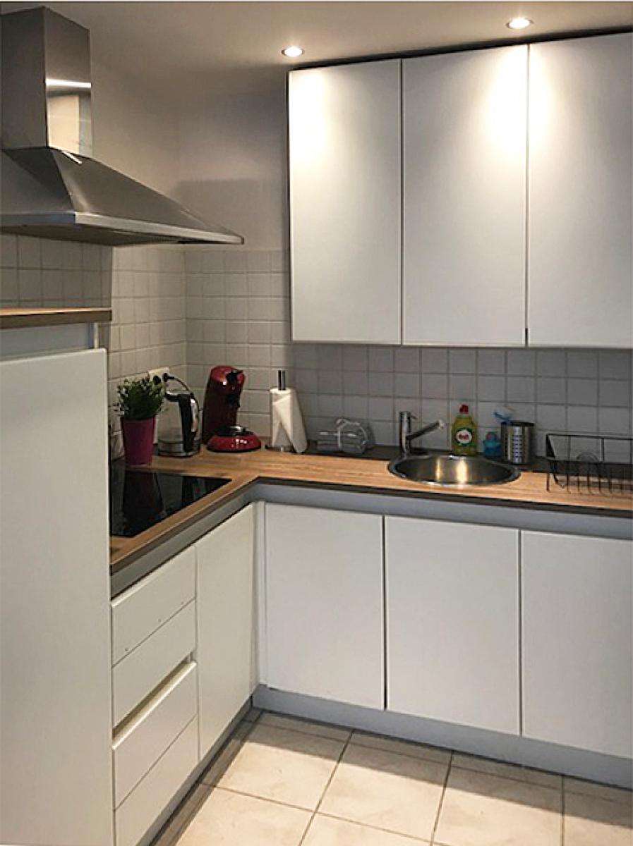 Opbrengstgebouw bestaande uit drie appartementen en een handelsgelijkvloers gelegen op een toplocatie in het centrum van Antwerpen. afbeelding 5