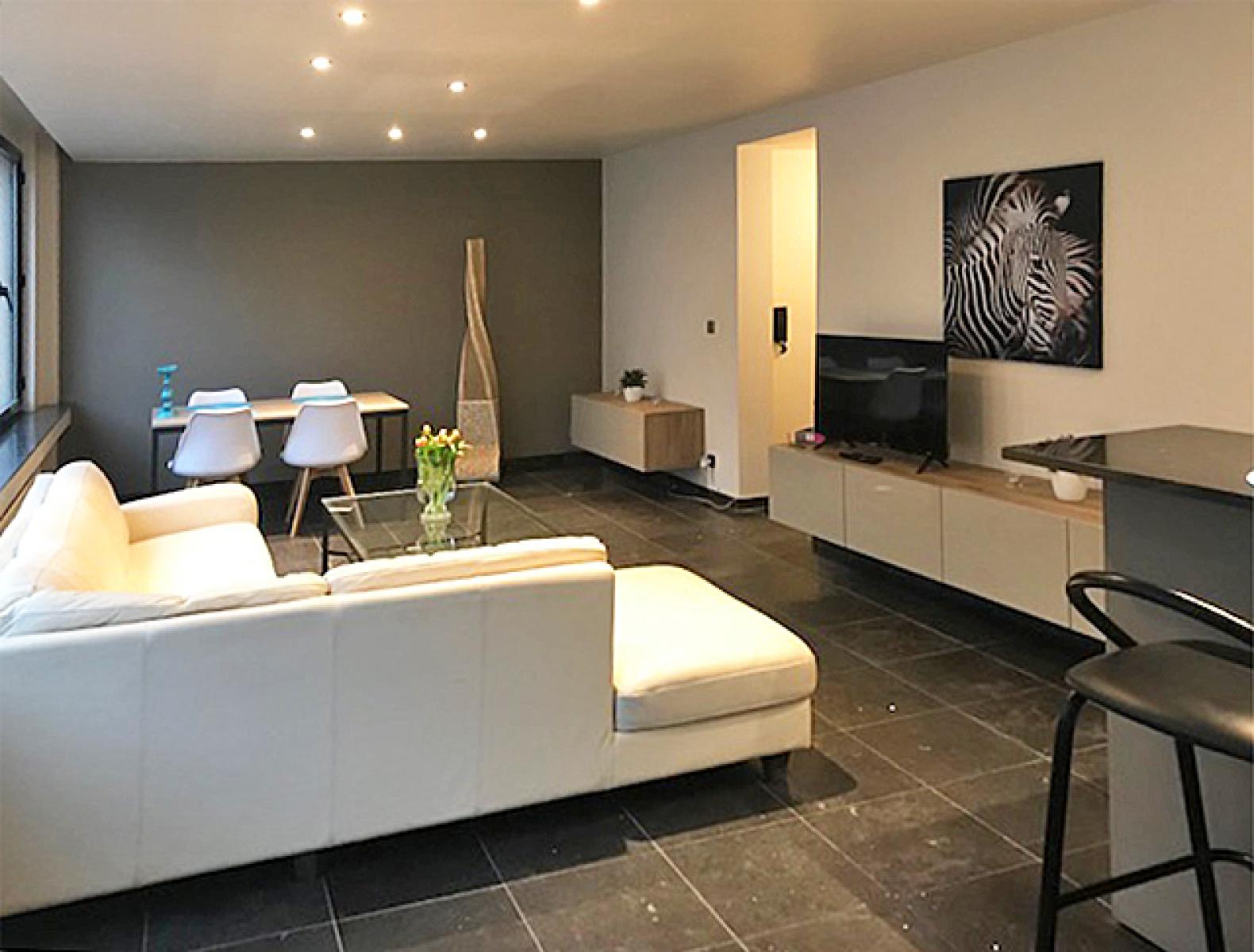 Opbrengstgebouw bestaande uit drie appartementen en een handelsgelijkvloers gelegen op een toplocatie in het centrum van Antwerpen. afbeelding 8