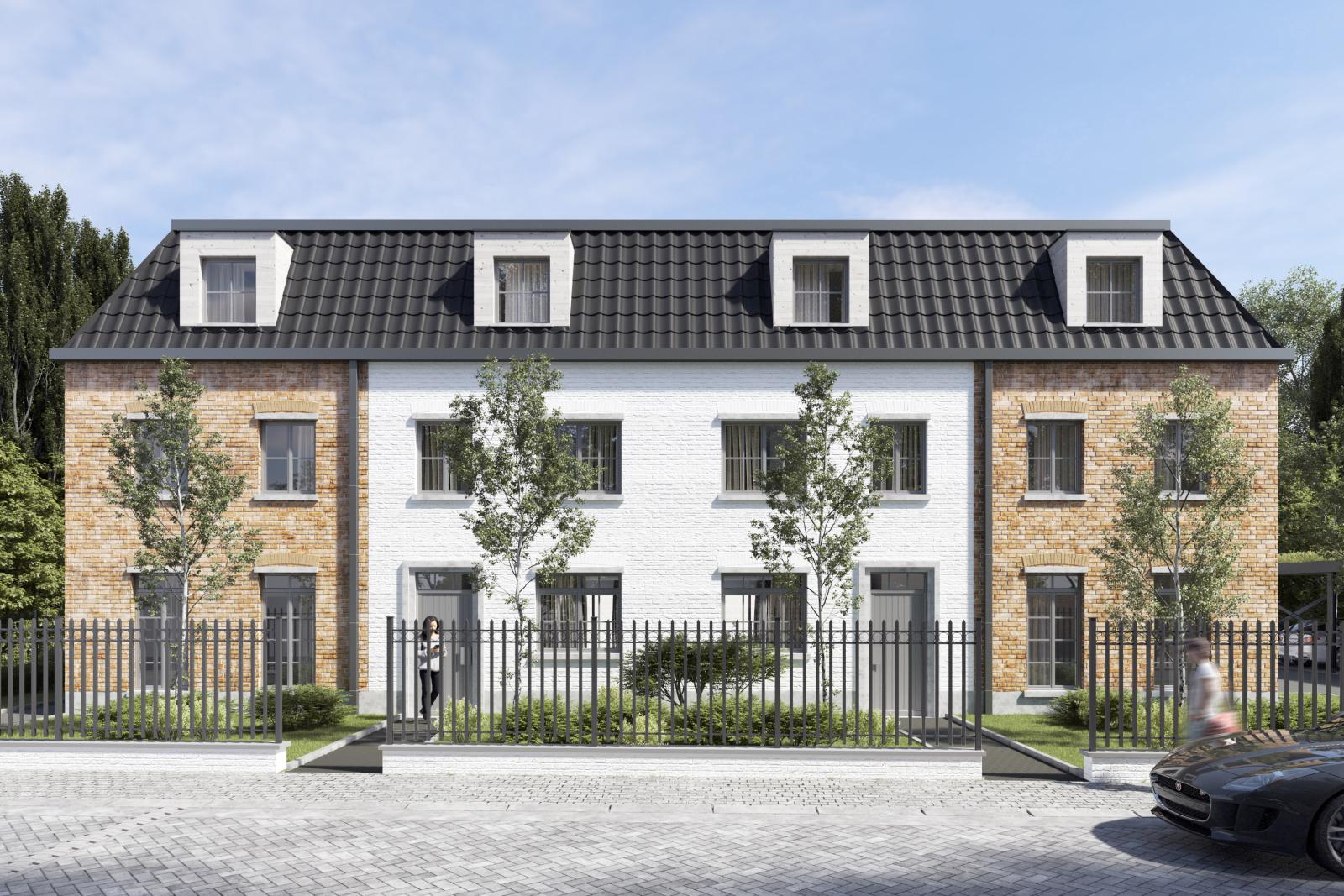 Halfopen sleutel op de deur nieuwbouwwoning in Wijnegem centrum!  afbeelding 2