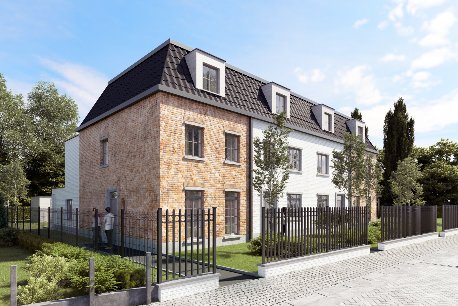 Karaktervolle sleutel op de deur nieuwbouwwoning in Wijnegem centrum!  afbeelding 1