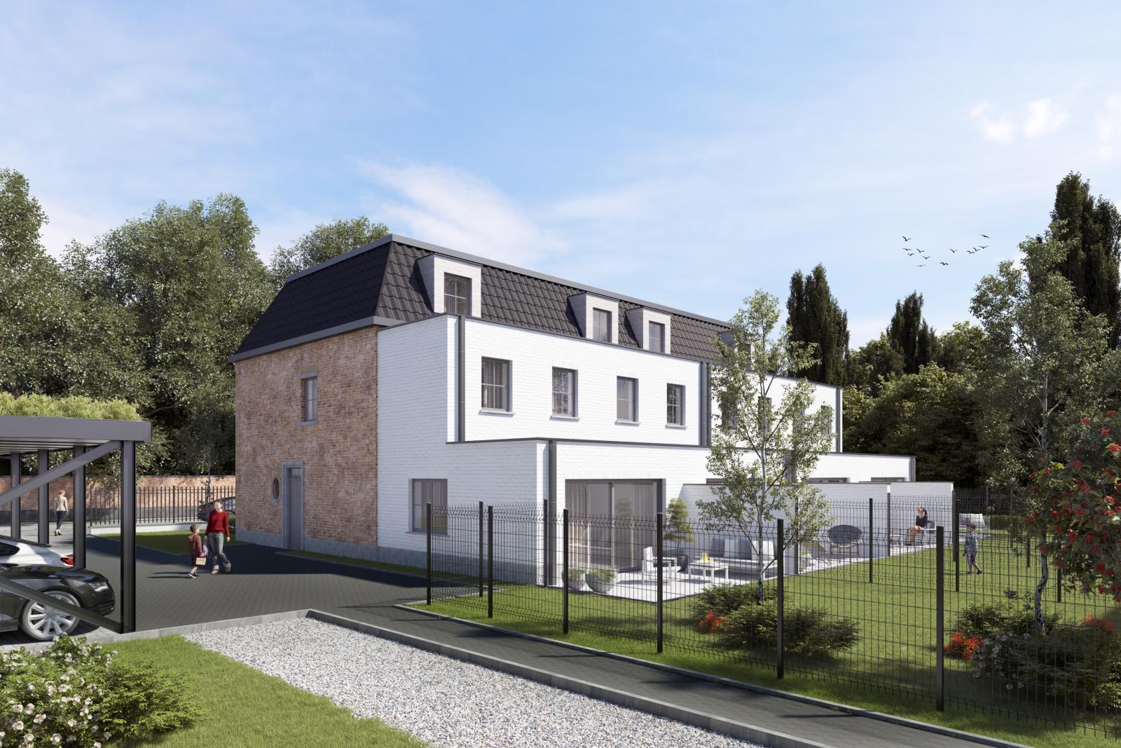 Halfopen sleutel op de deur nieuwbouwwoning in Wijnegem centrum!  afbeelding 3