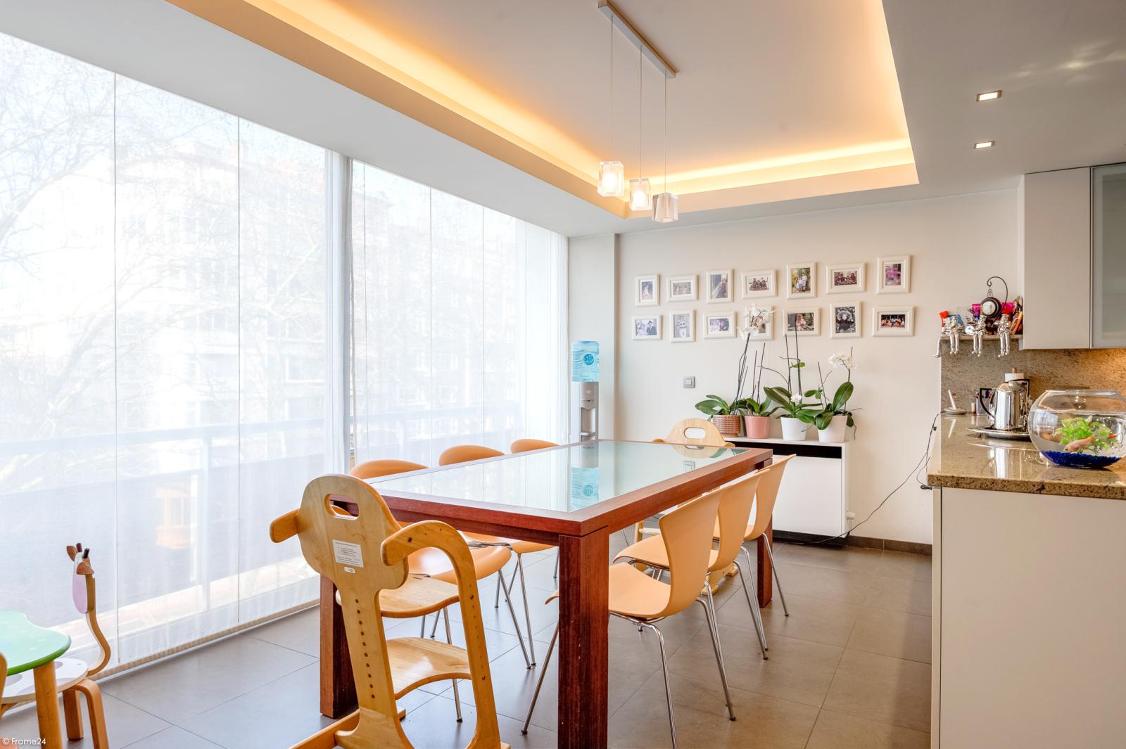 Riant luxueus appartement (ca. 280 m²) op unieke ligging nabij het Koning Albertpark te Antwerpen! afbeelding 9