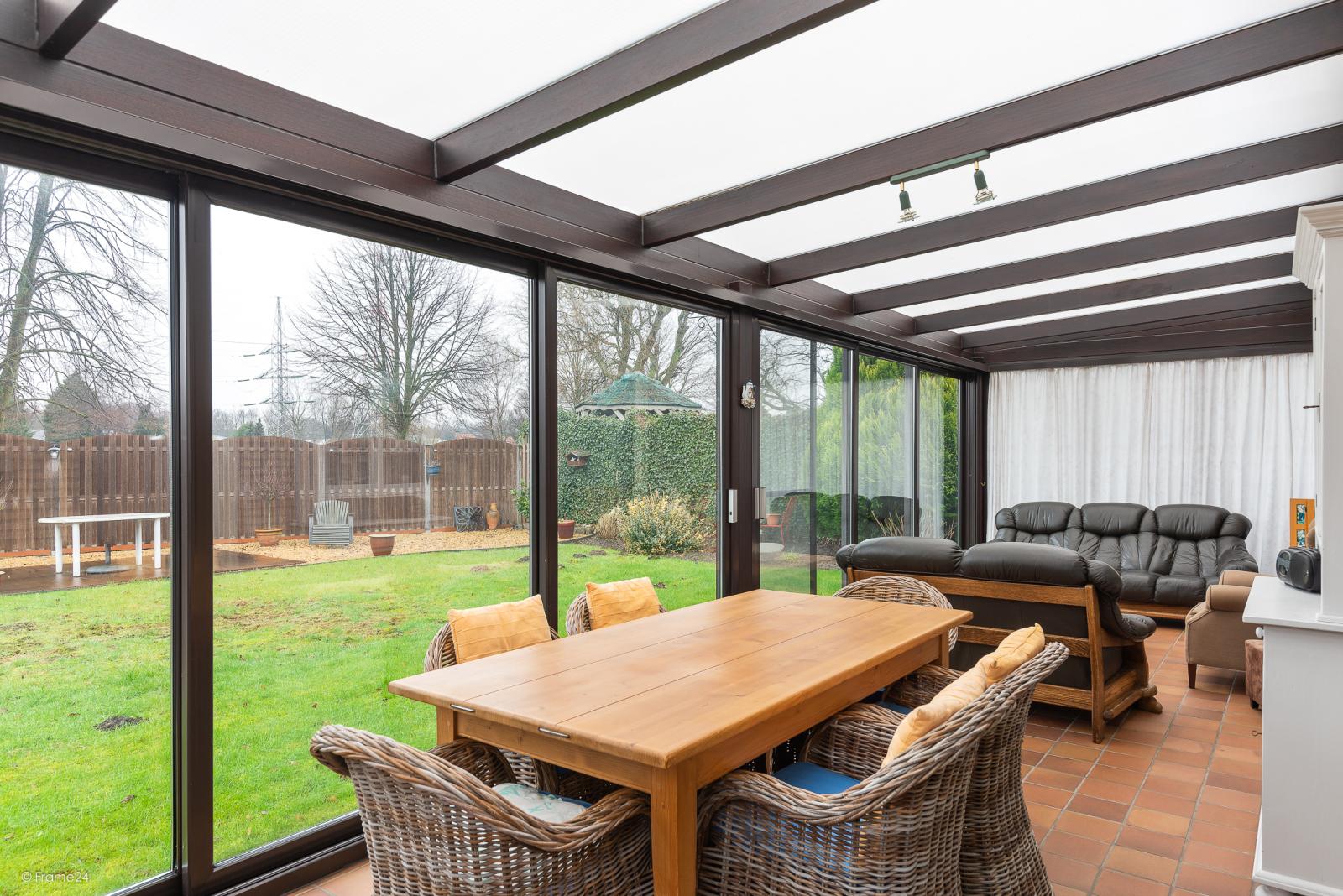 Zeer verzorgde vrijstaande laagbouwwoning met 3 slaapkamers op goede locatie te Wommelgem! afbeelding 8