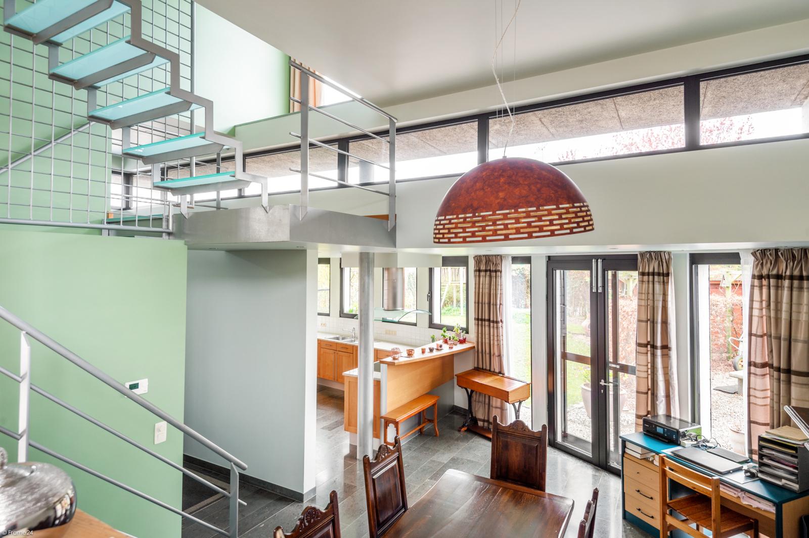Architecturale halfopen woning met prachtig uitzicht op een perceel van 575 m² te Aartselaar! afbeelding 10