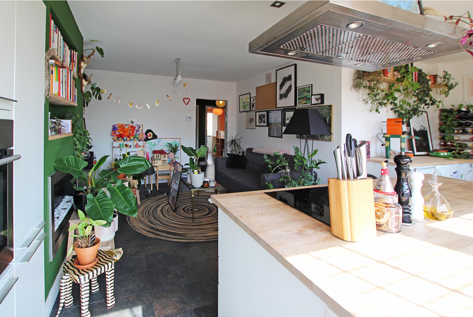 Fleurig appartement met twee slaapkamers te Merksem! afbeelding 1