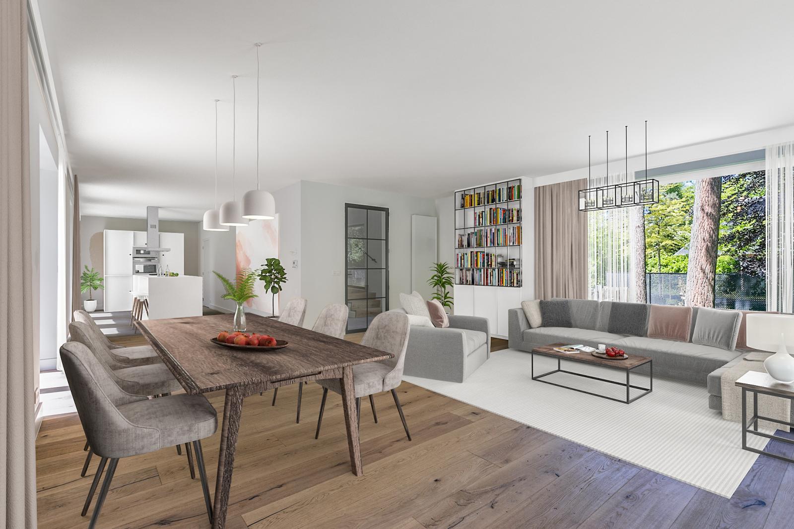"""In de prestigieuze wijk """"Schotenhof"""" treffen we deze oogverblindende villa met charmant rieten dak! afbeelding 12"""