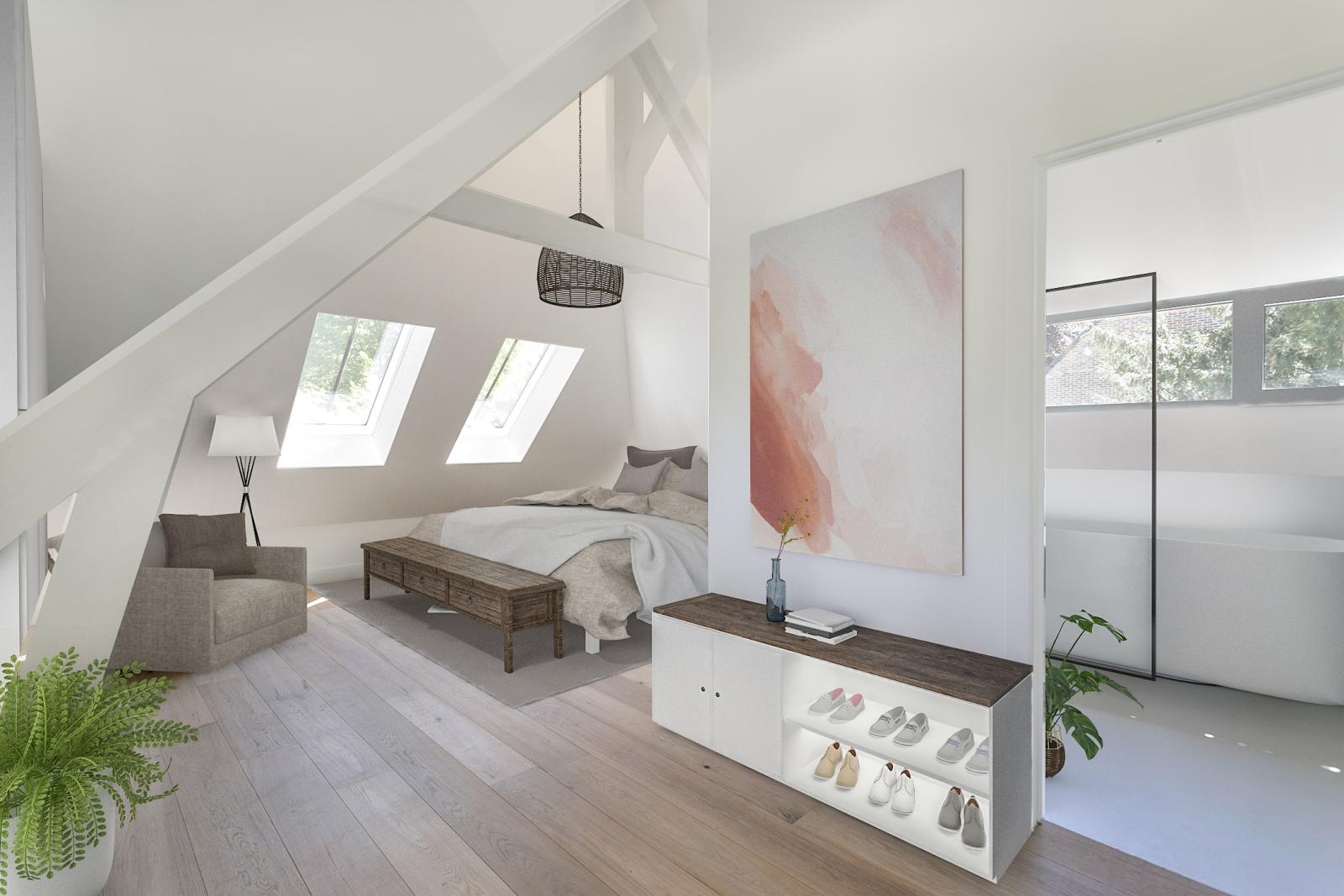 """In de prestigieuze wijk """"Schotenhof"""" treffen we deze oogverblindende villa met charmant rieten dak! afbeelding 15"""