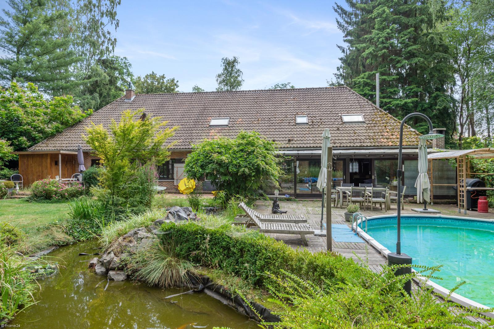 Authentieke en riante villa met 7 slaapkamers en zwembad op een perceel van 3.369 m² te Schilde! afbeelding 14