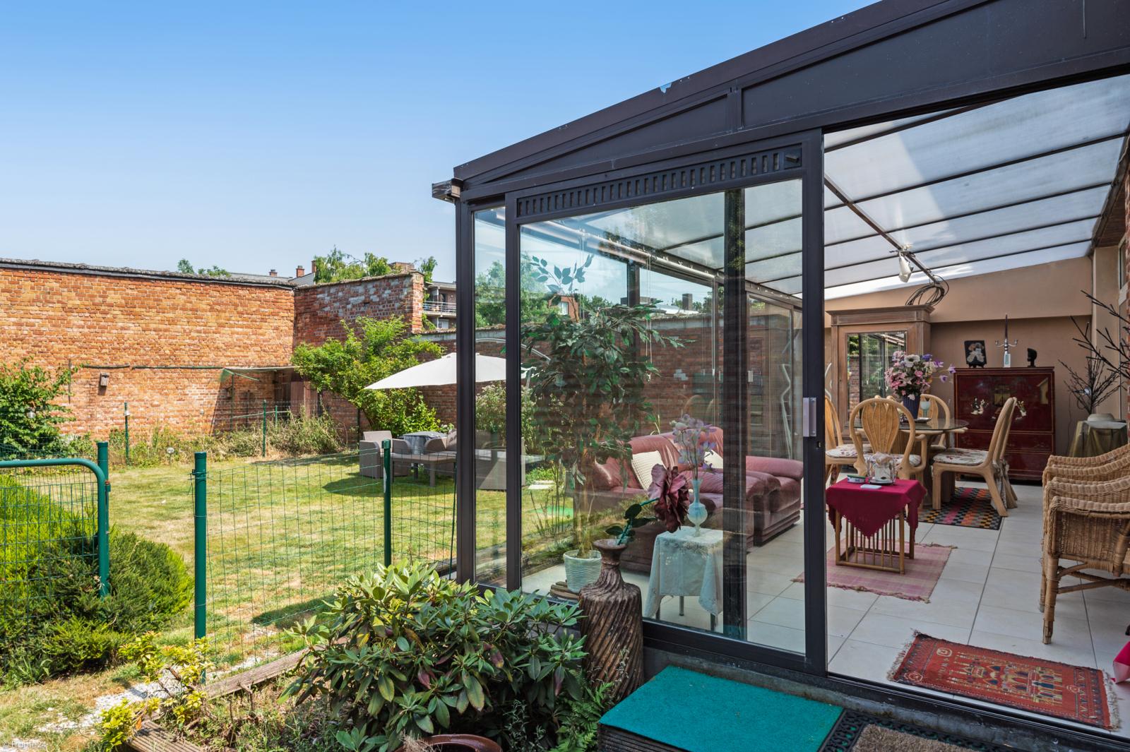 Riant gelijkvloers appartement met aparte studio en gezellige tuin te Deurne-Zuid! afbeelding 10