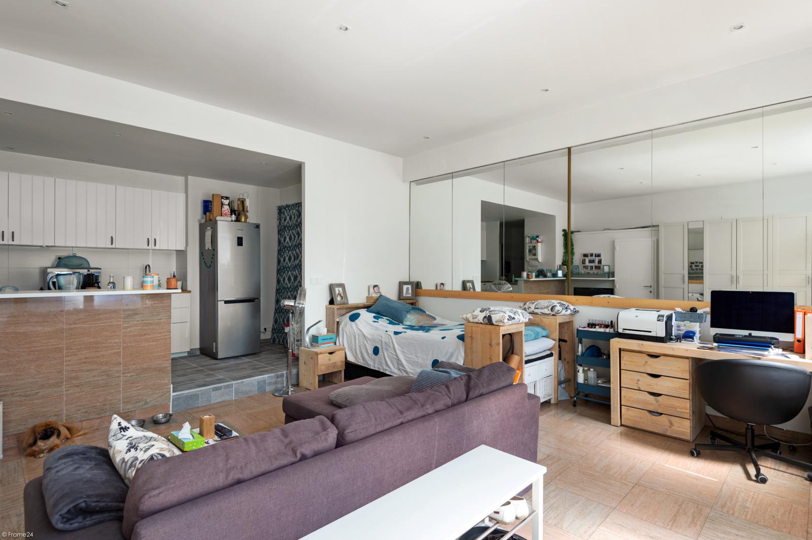 Riant gelijkvloers appartement met aparte studio en gezellige tuin te Deurne-Zuid! afbeelding 24