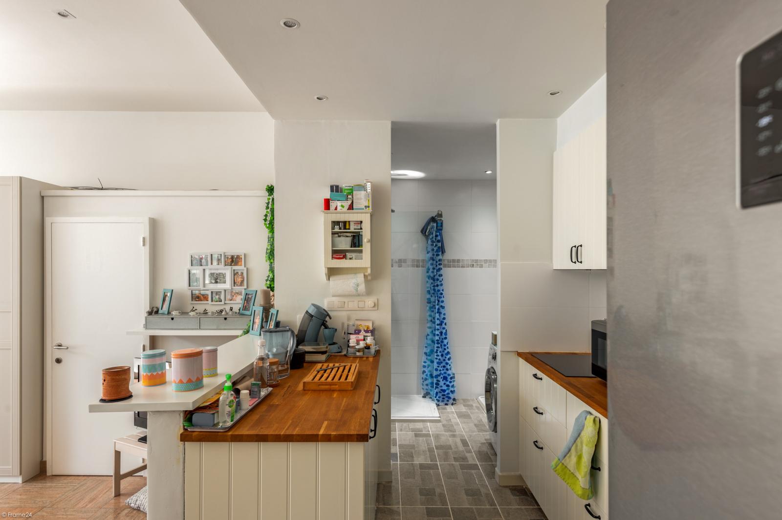 Riant gelijkvloers appartement met aparte studio en gezellige tuin te Deurne-Zuid! afbeelding 28