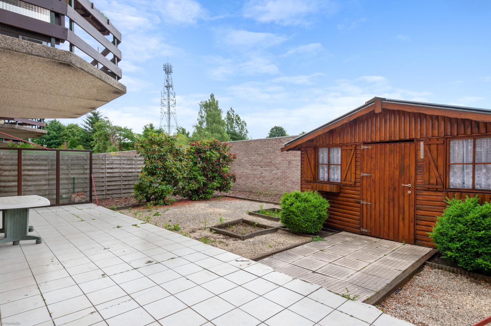 Zeer verzorgd en ruim gelijkvloers appartement (+/- 100m²) met tuin nabij het centrum van Schoten! afbeelding 19