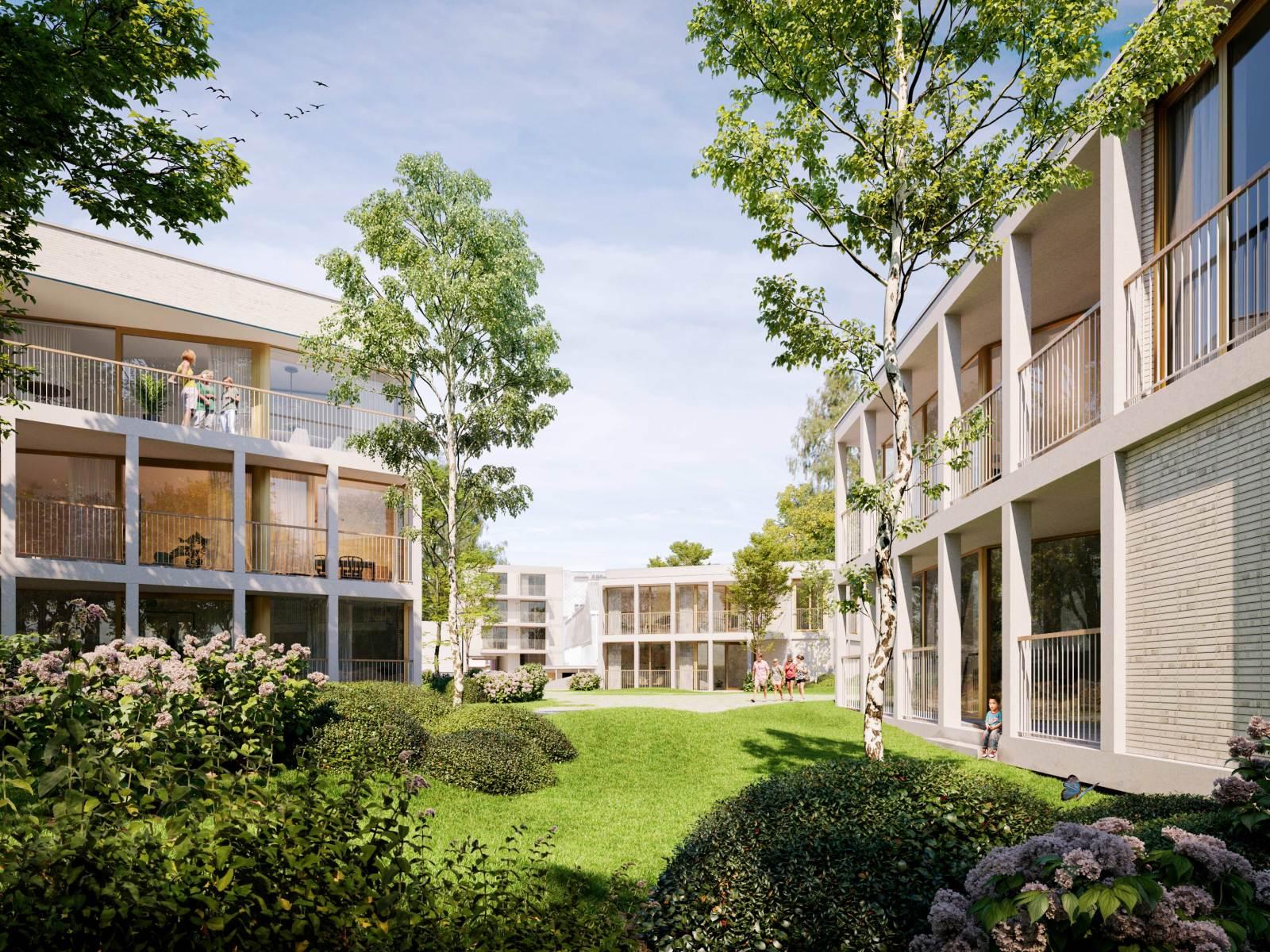 Nieuwbouw appartement op de gelijkvloers verdieping in prachtig binnengebied! afbeelding 2