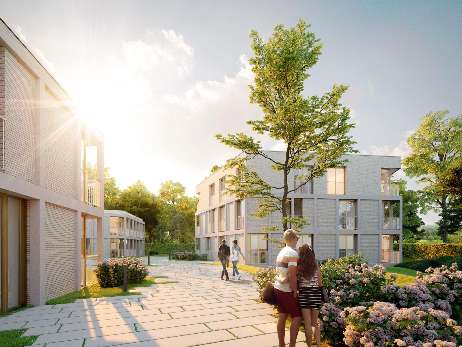 Nieuwbouw appartement op de gelijkvloers verdieping in prachtig binnengebied! afbeelding 4
