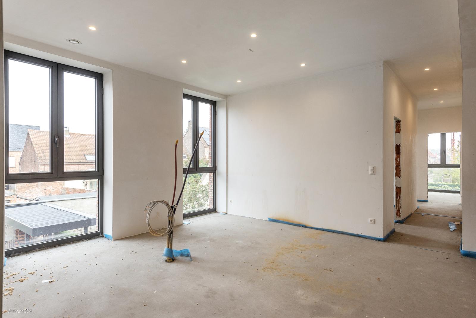 Riant vernieuwd appartement (147 m²) op centrale ligging te Walem! afbeelding 2
