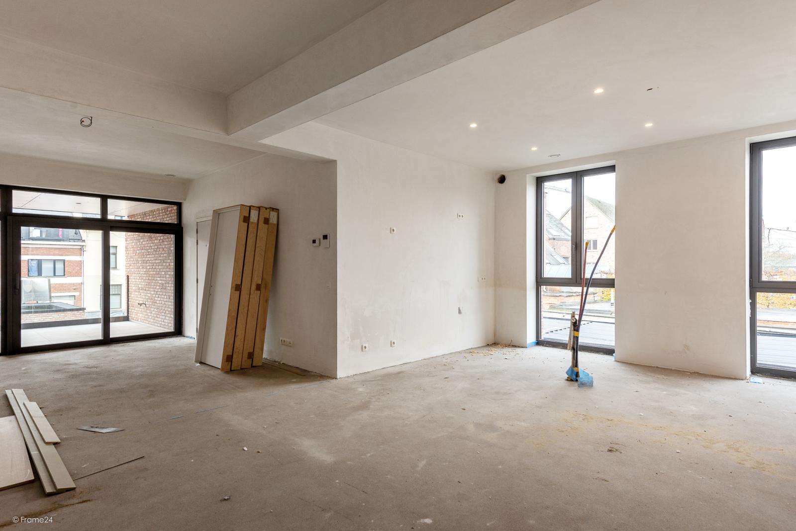 Riant vernieuwd appartement (147 m²) op centrale ligging te Walem! afbeelding 3