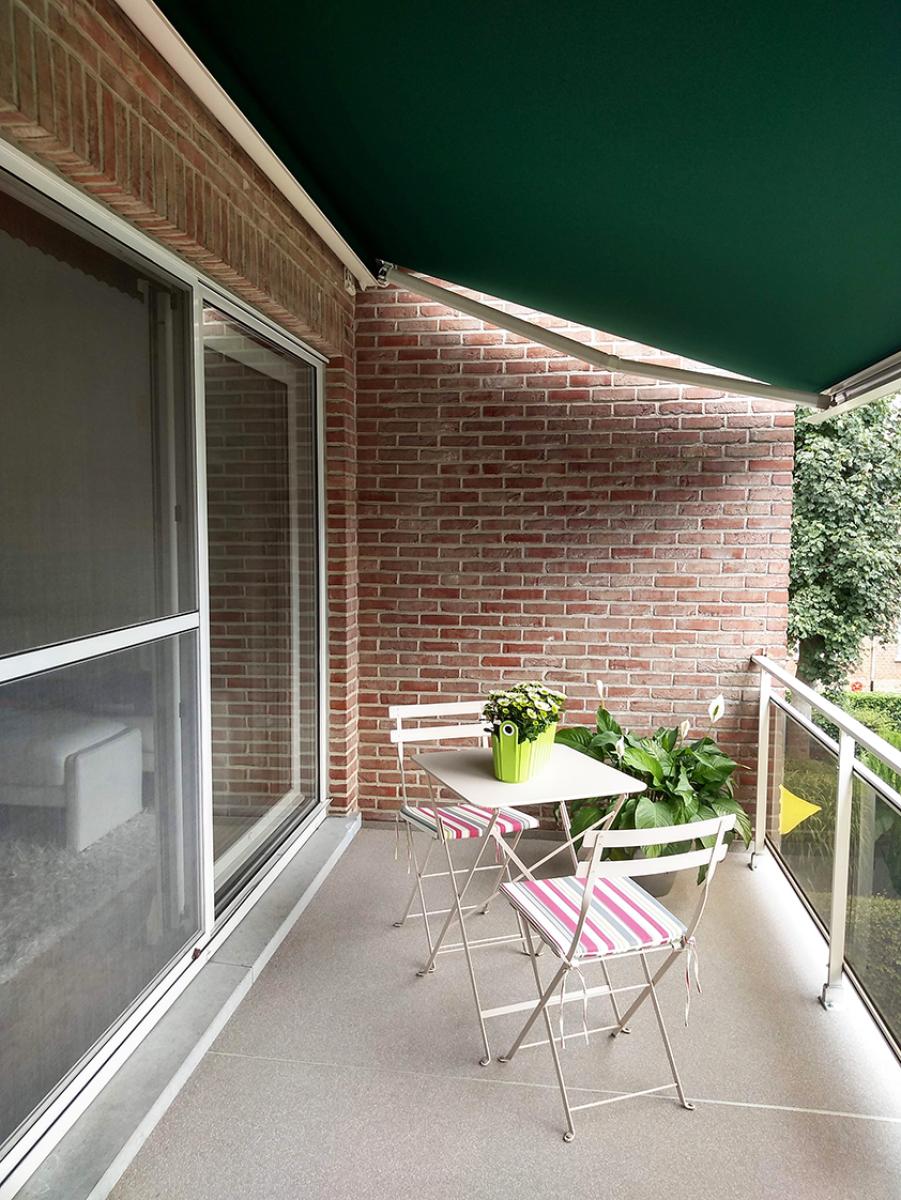 Knus appartement met één slaapkamer, terras en garagebox te Merksem! afbeelding 14