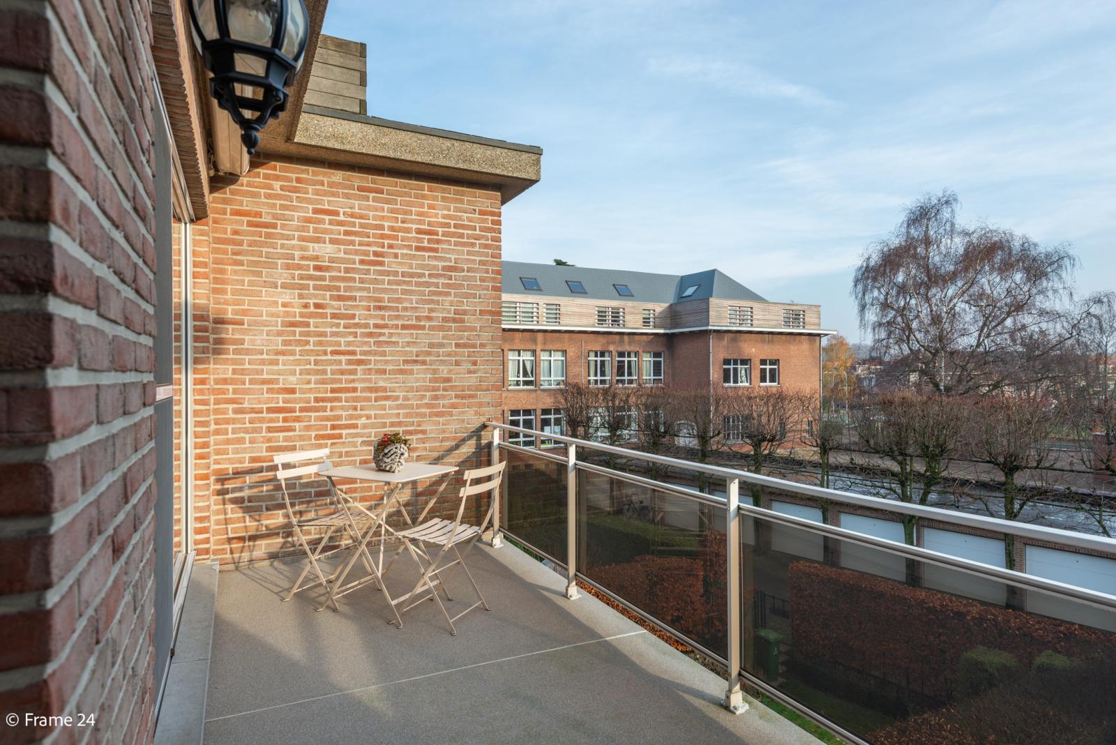 Knus appartement met één slaapkamer, terras en garagebox te Merksem! afbeelding 12
