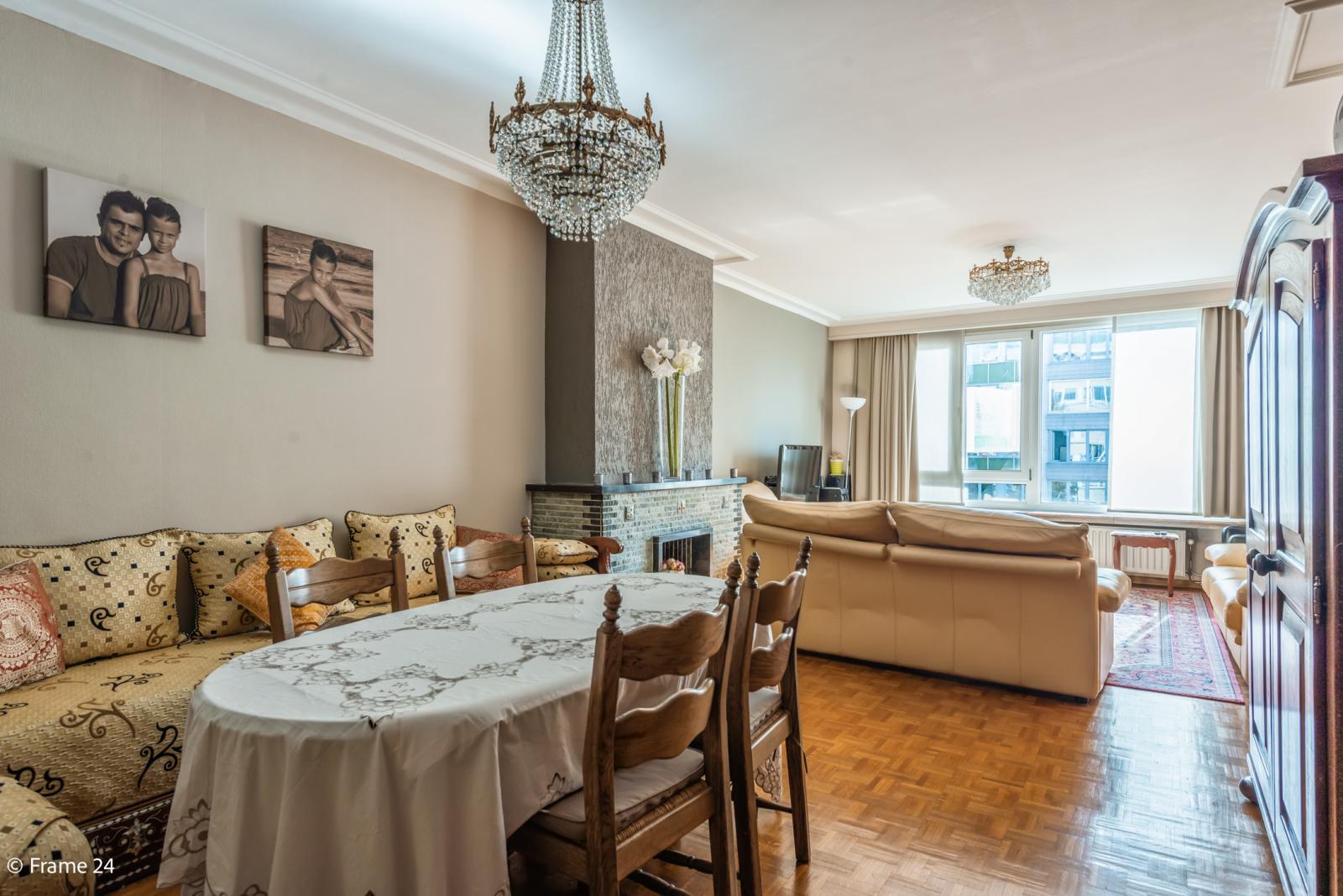 Zeer verzorgd en ruim appartement (101 m²) met lift op centrale locatie te Borgerhout! afbeelding 5