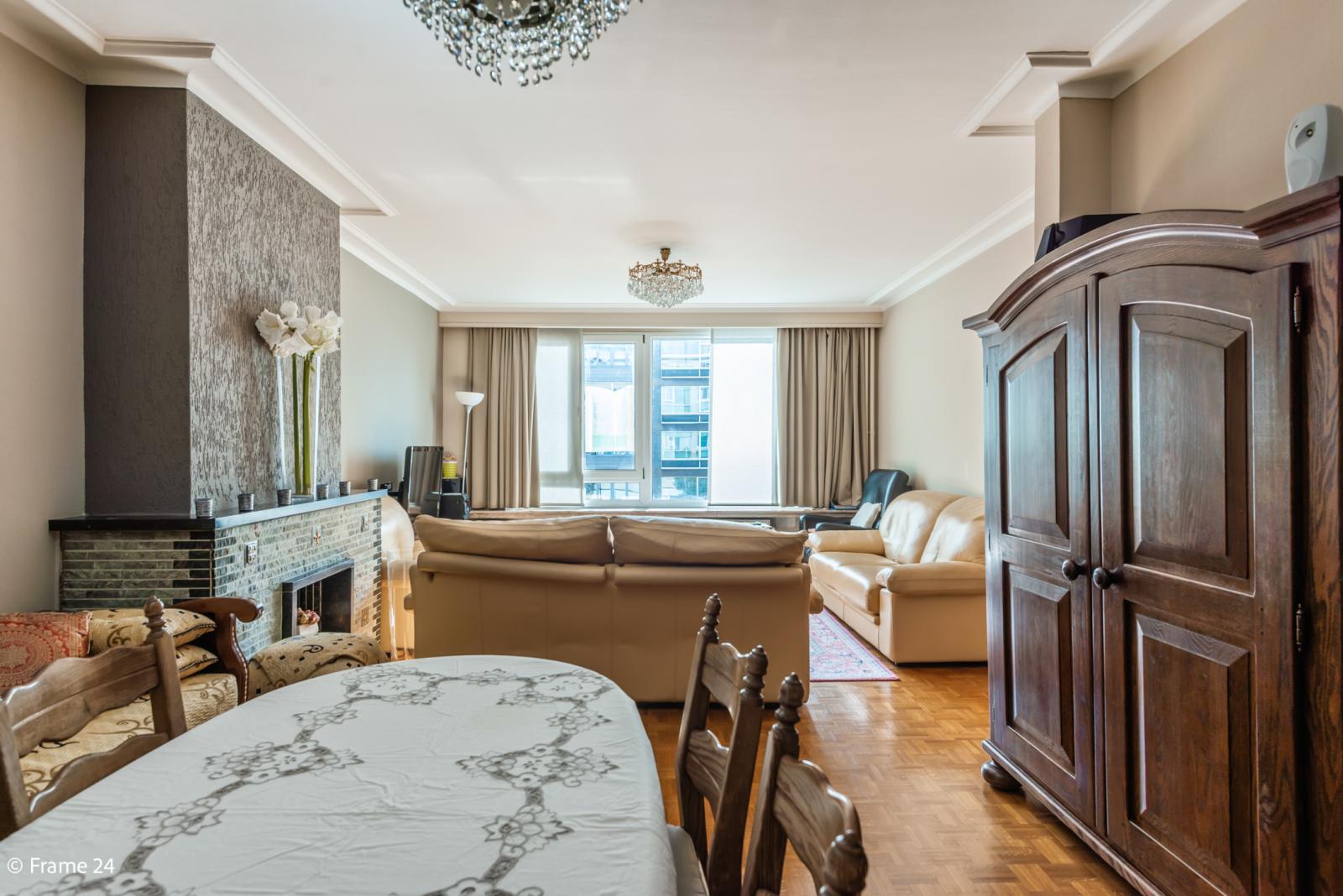 Zeer verzorgd en ruim appartement (101 m²) met lift op centrale locatie te Borgerhout! afbeelding 6