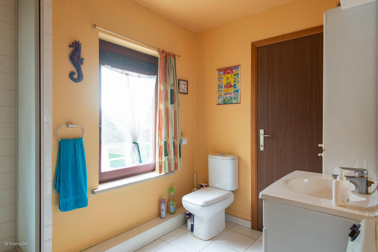 Zeer verzorgde halfopen woning met drie slaapkamers, garage, leuke tuin en gelegen op een toplocatie te Wijnegem!  afbeelding 18