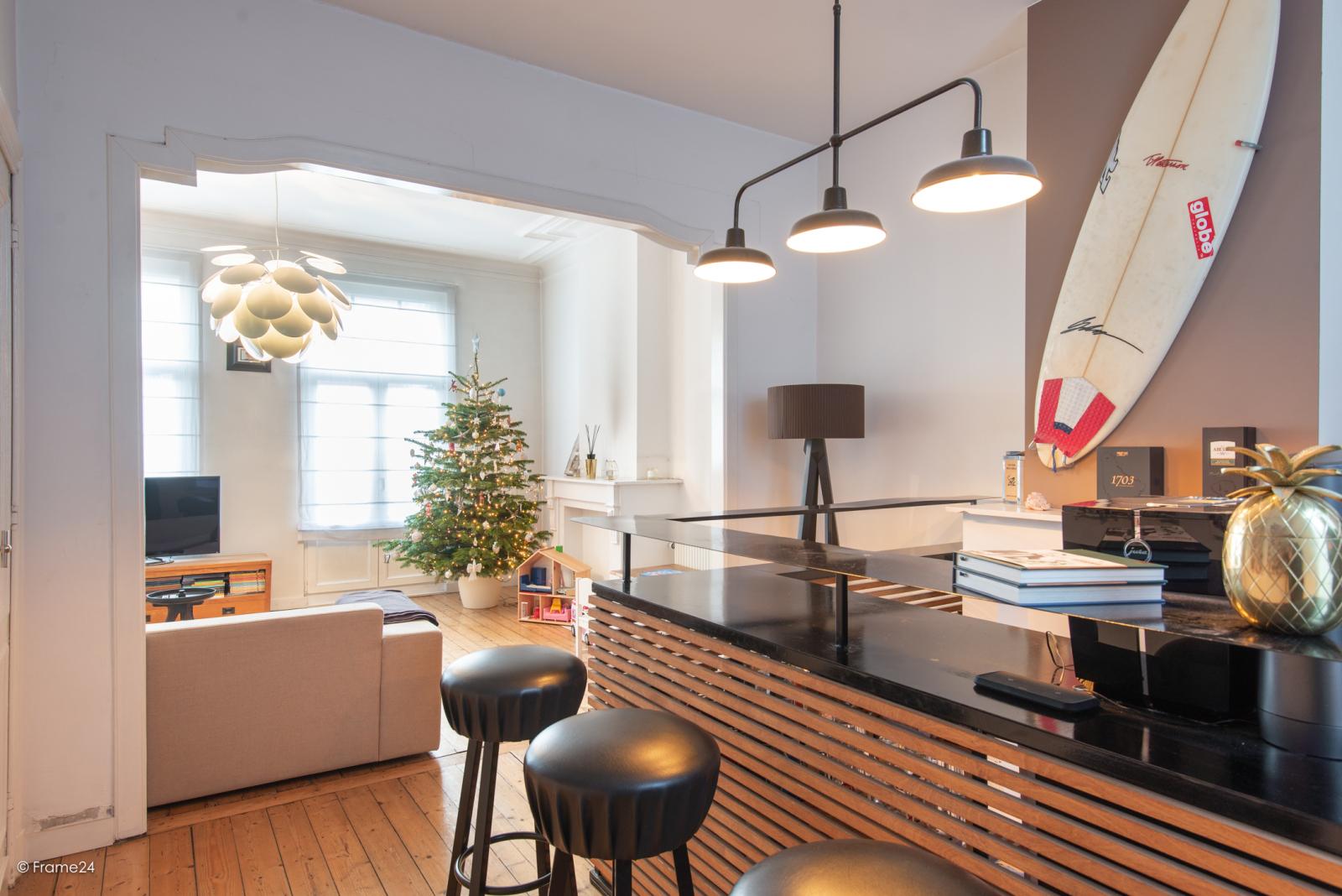 Riante woning in art-nouveaustijl met vijf slaapkamers in een prachtige laan te Wilrijk!  afbeelding 18