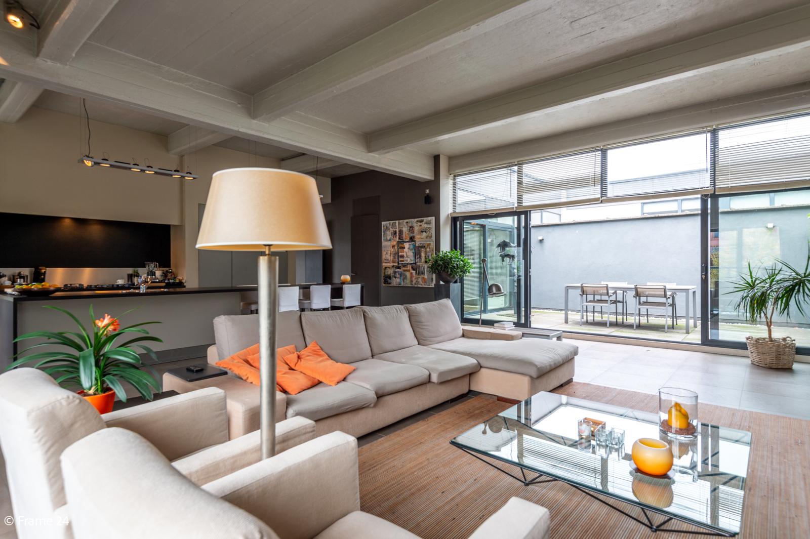 Riante loft (135 m²) met drie terrassen (53 m²) te Borgerhout! afbeelding 4