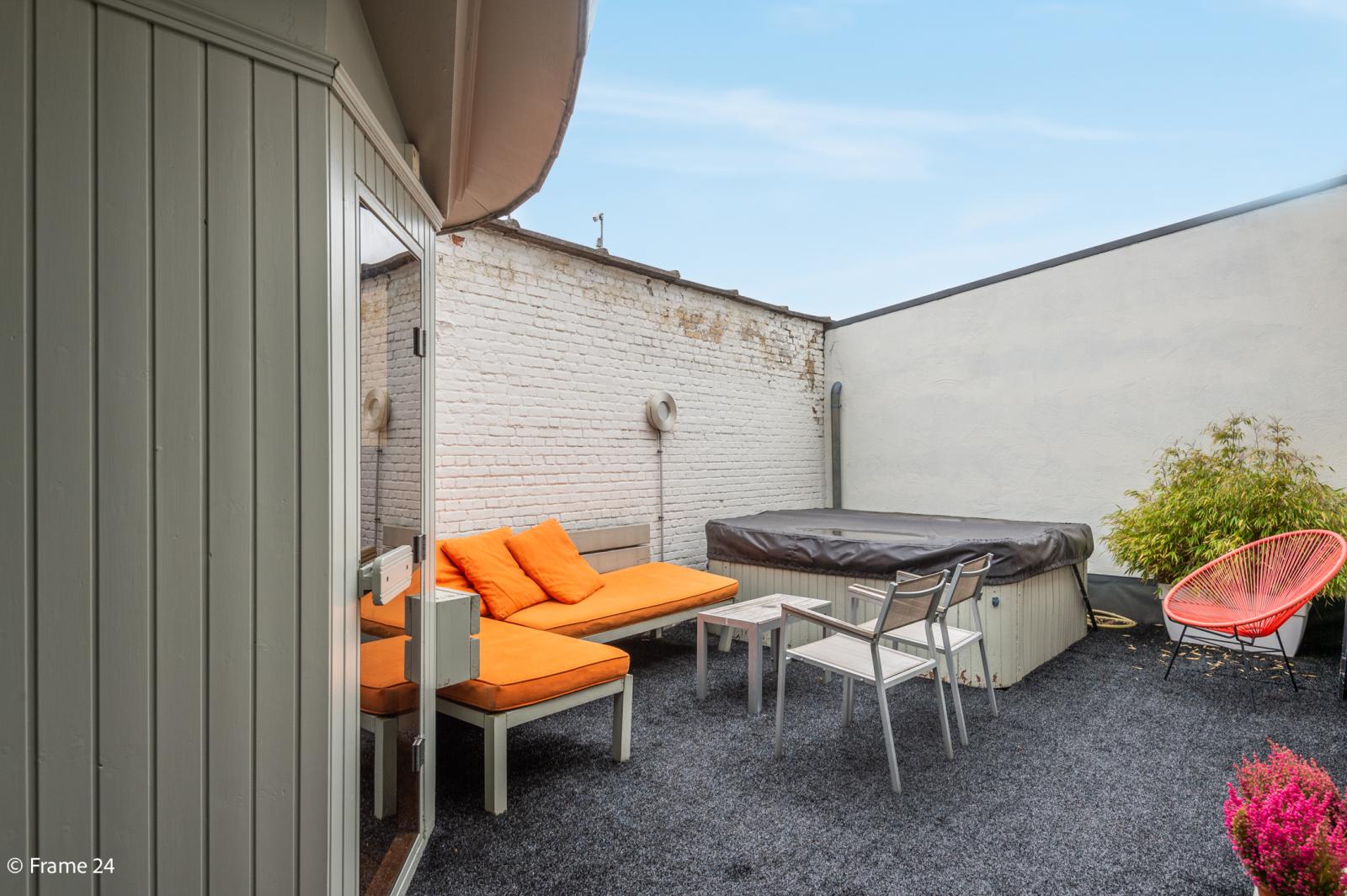 Riante loft (135 m²) met drie terrassen (53 m²) te Borgerhout! afbeelding 15