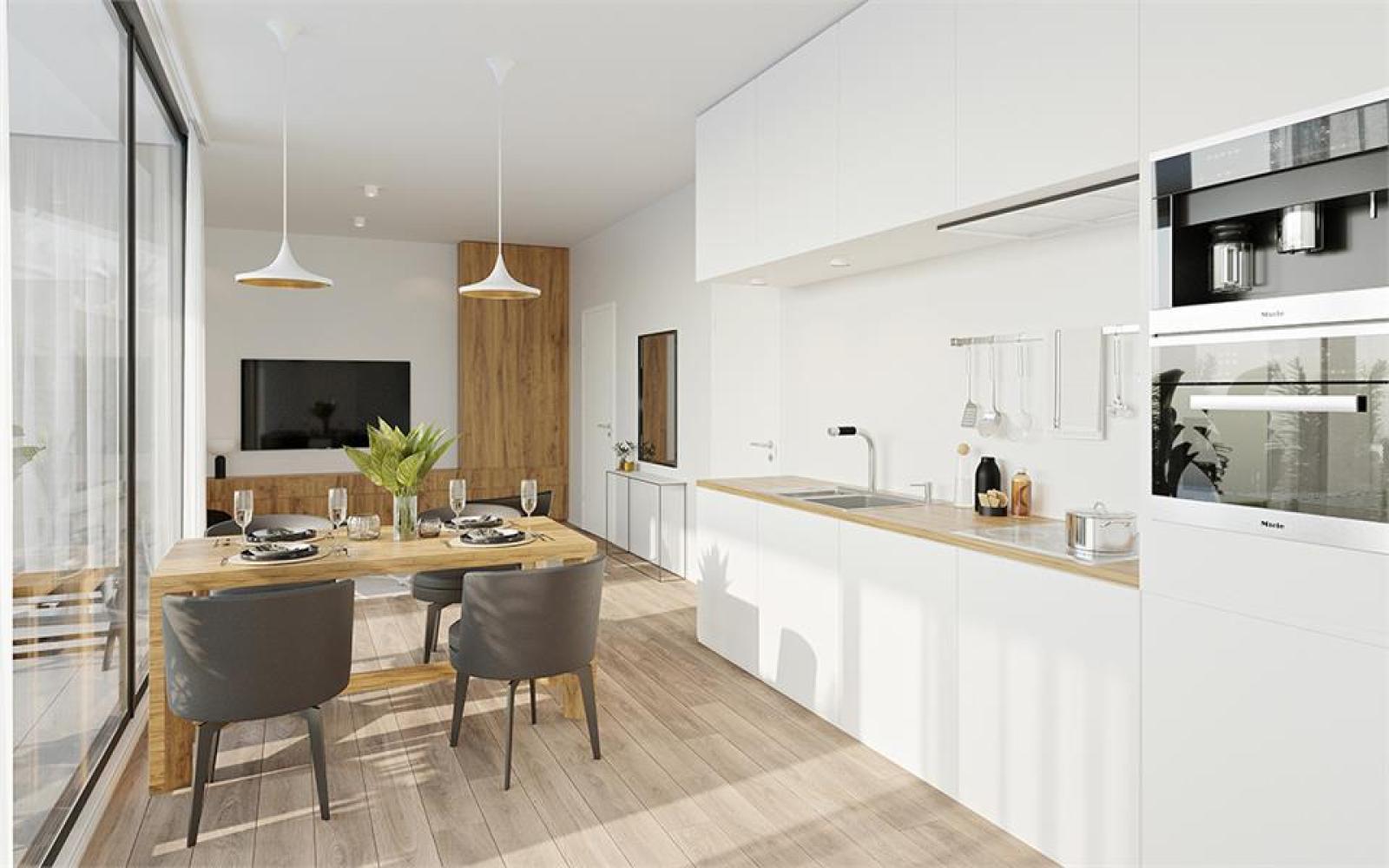 Prachtig gelijkvloers appartement te Zandhoven, met zicht op agrarisch gebied! afbeelding 1