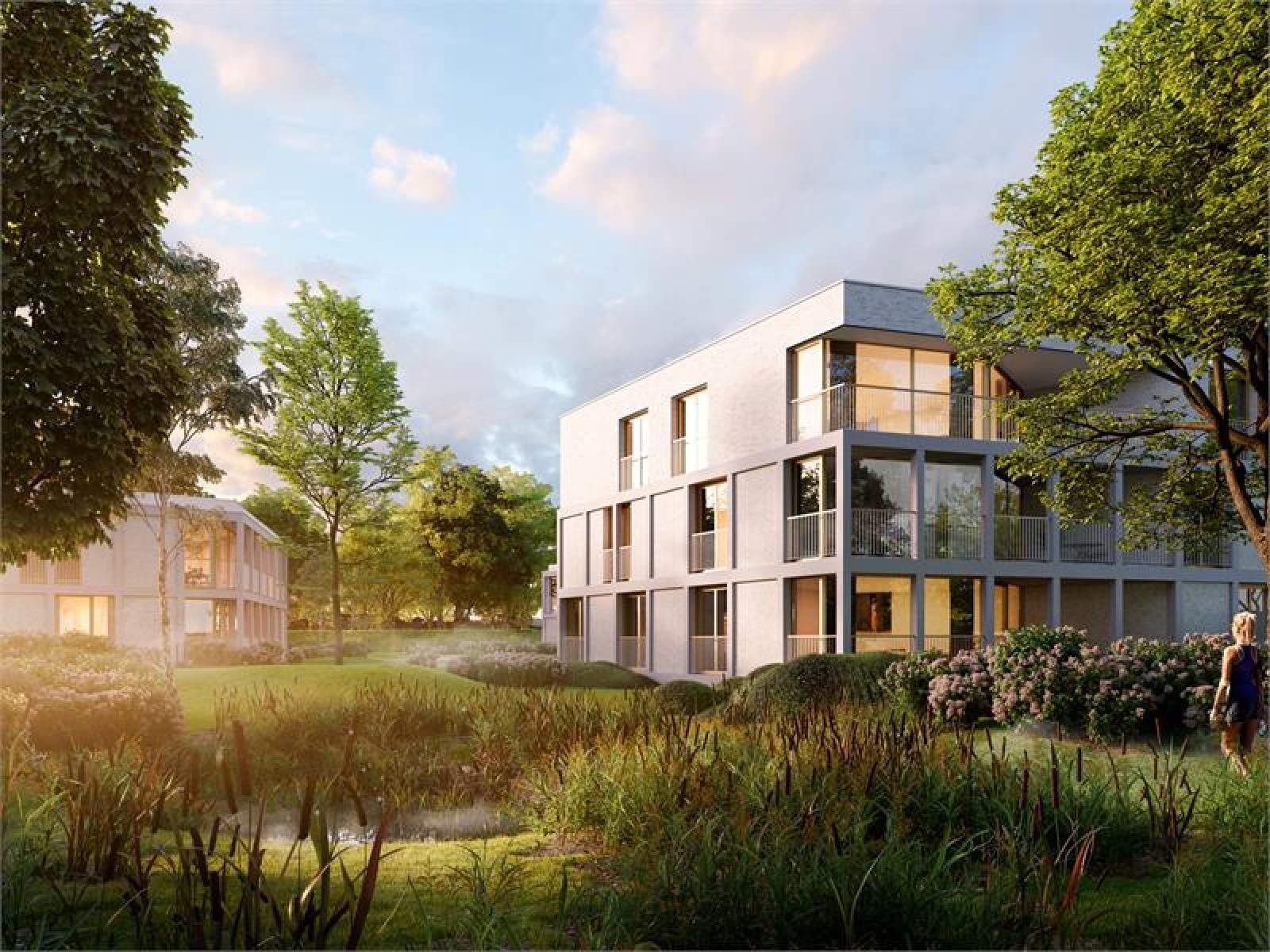 Nieuwbouw appartement op de gelijkvloers verdieping in prachtig binnengebied! afbeelding 3
