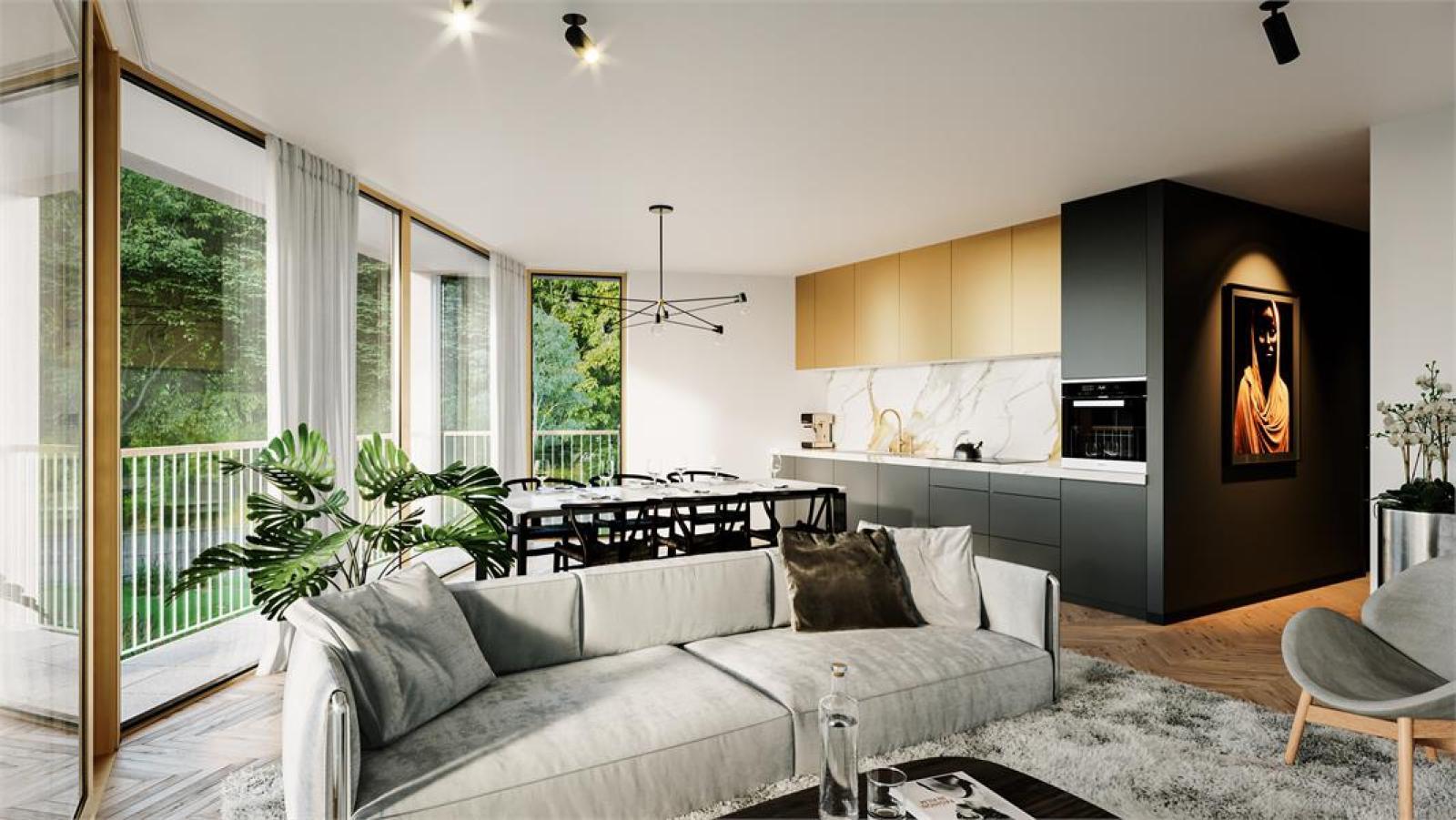 Nieuwbouw BEN-appartement op de tweede verdieping in prachtig binnengebied! afbeelding 1