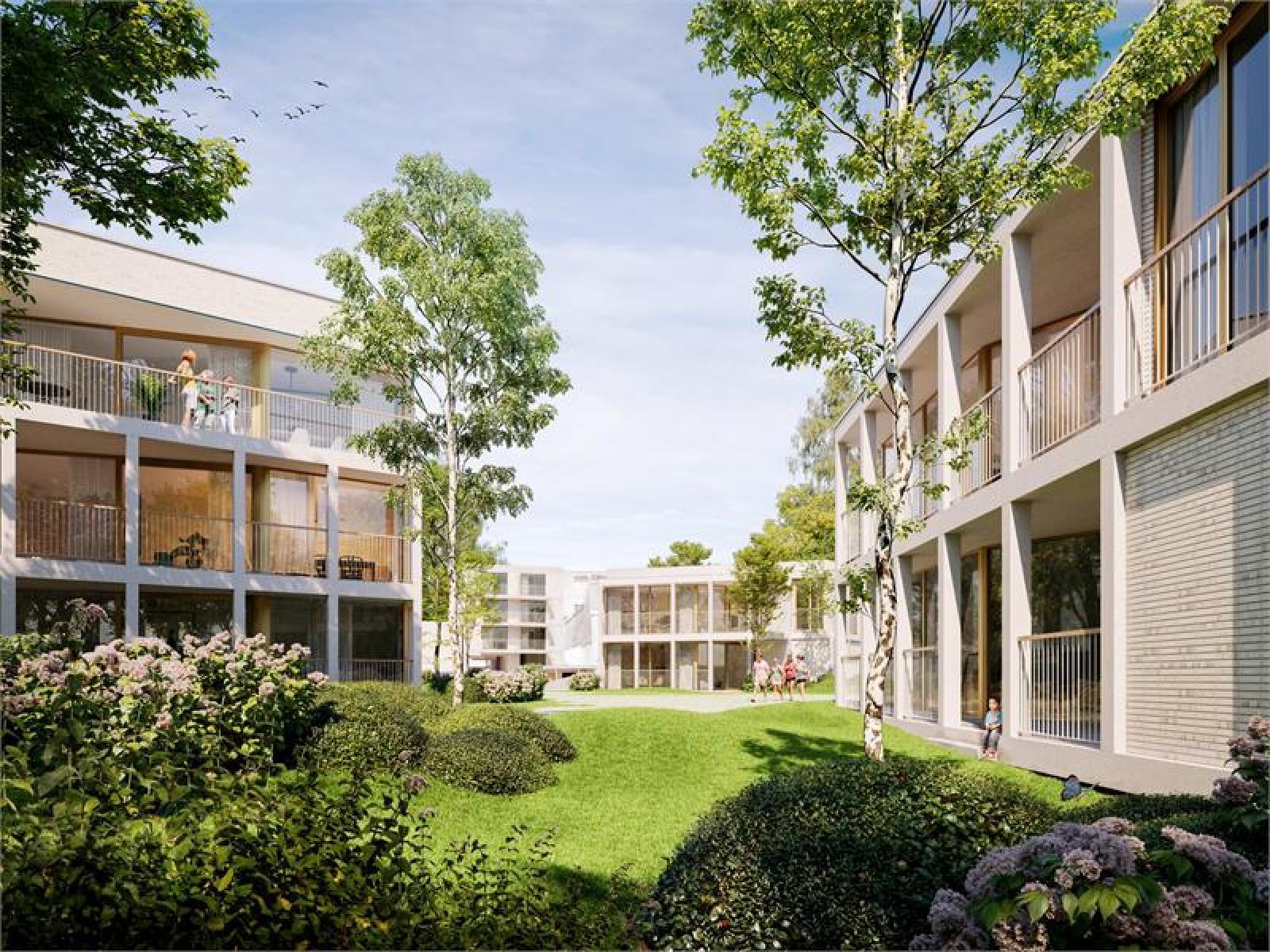 Nieuwbouw BEN-appartement op de gelijkvloers verdieping in prachtig binnengebied! afbeelding 2