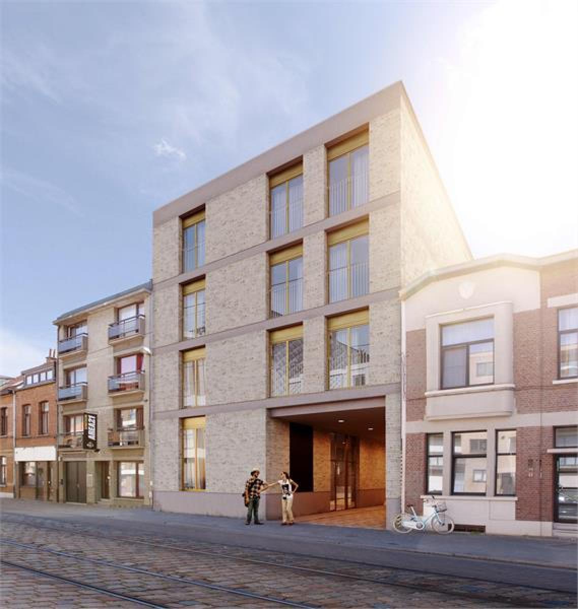 Nieuwbouw BEN-appartement op de eerste verdieping op centale locatie te Deurne! afbeelding 1