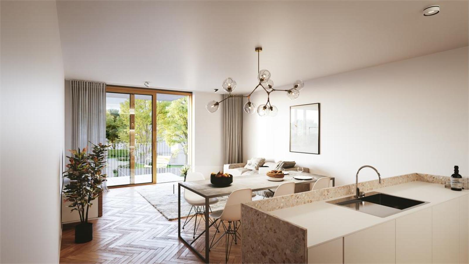 Gelijkvloers BEN-appartement met tuin op centrale locatie te Deurne! afbeelding 1