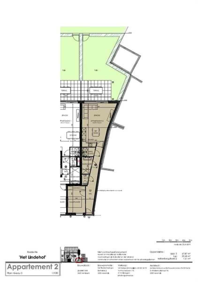 Prachtig gelijkvloers nieuwbouwappartement in kleinschalig gebouw. afbeelding 5